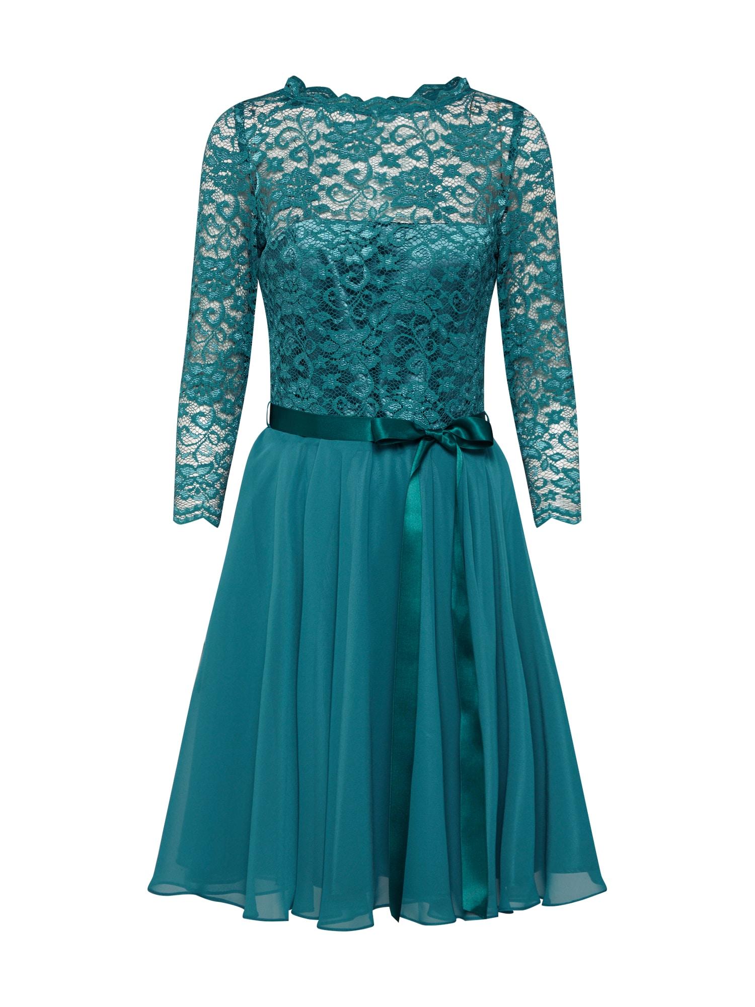 SWING Sukienka koktajlowa  zielony