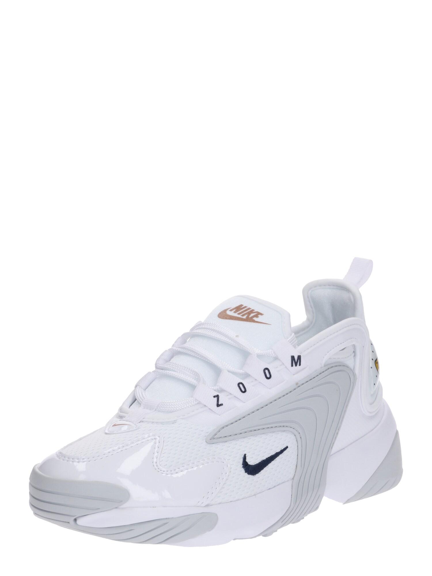 Nike Sportswear, Dames Sneakers laag 'WMNS NIKE ZOOM 2K', navy / wit