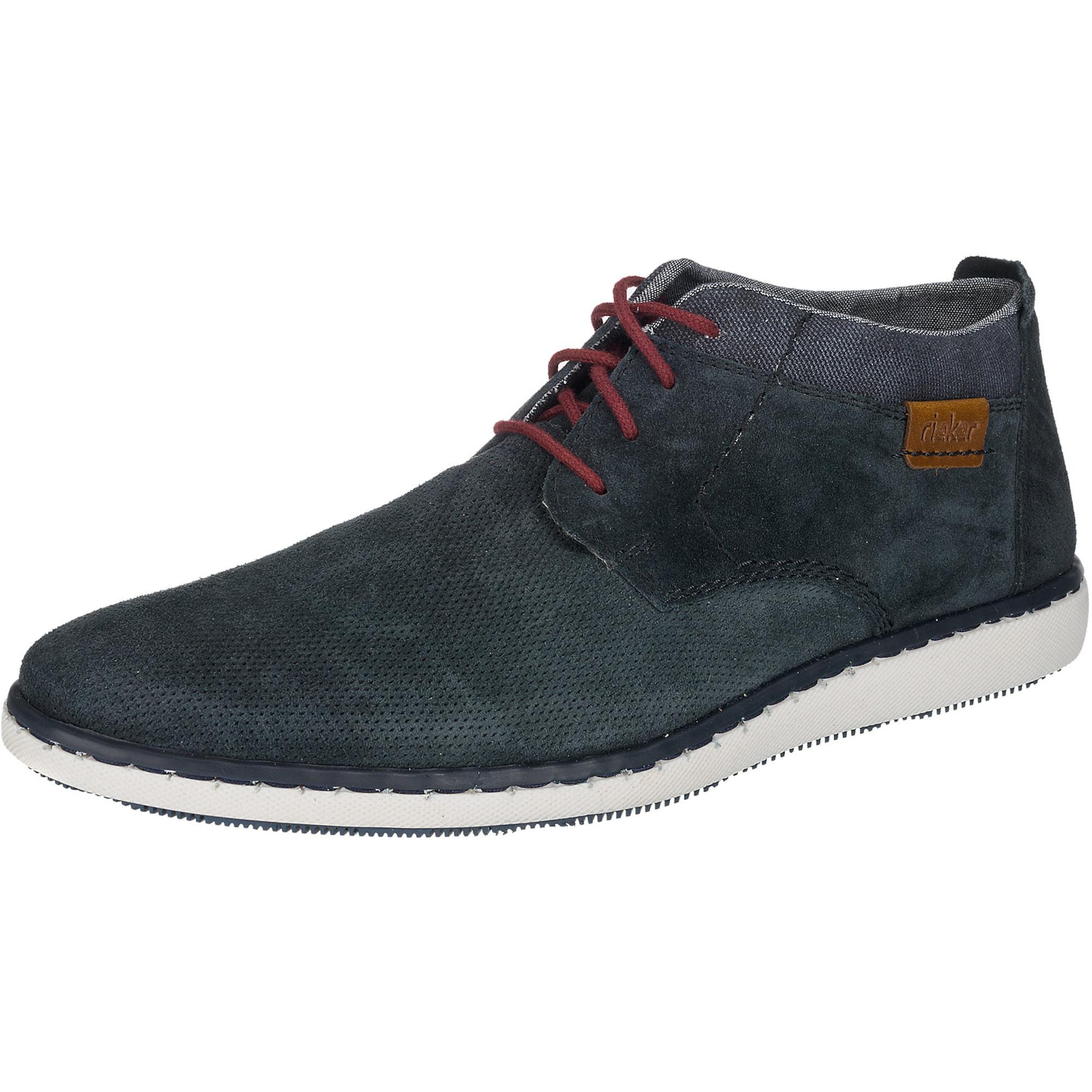 Šněrovací boty modrá RIEKER