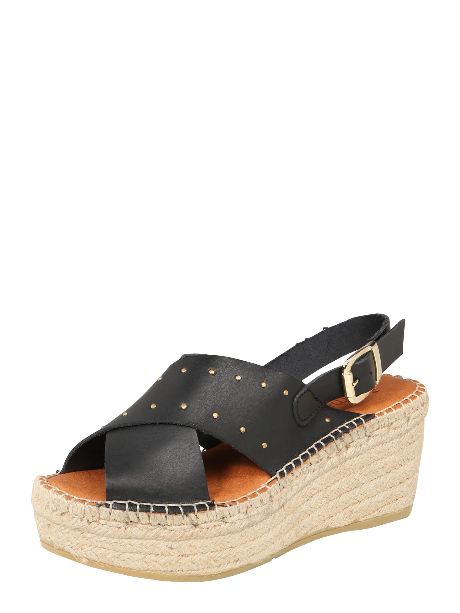 Sandály Naya 25 černá MACARENA