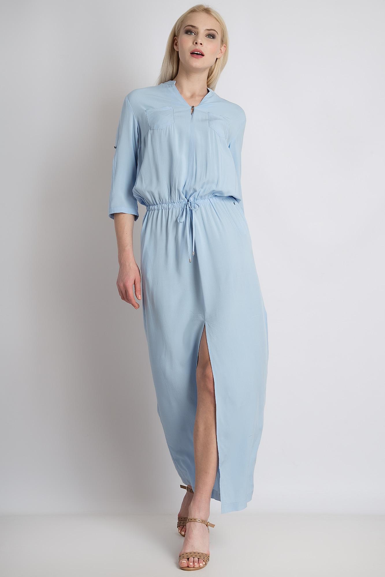 finn flare - Maxi-Kleid mit Taillenschnürung