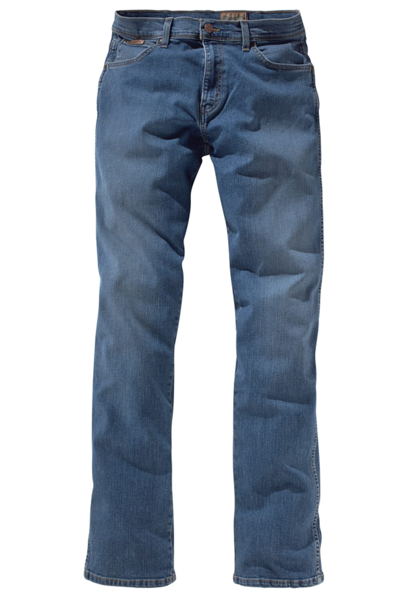 WRANGLER Heren Jeans Texas Stretch blue denim