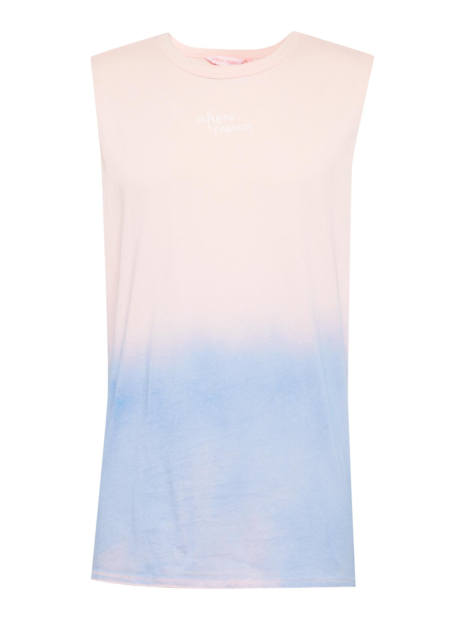 Tričko modrá růžová Inferno Ragazzi