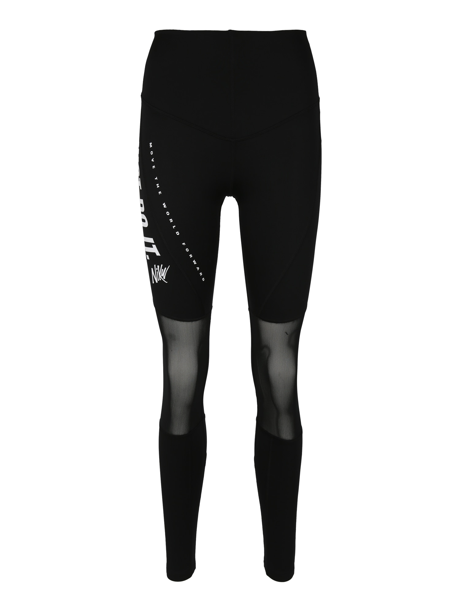 Sportovní kalhoty černá bílá NIKE