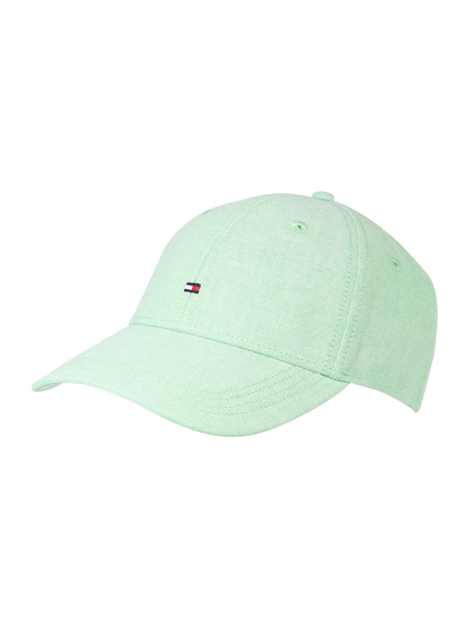 Kšiltovka BB CAP CHAMBRAY zelená TOMMY HILFIGER