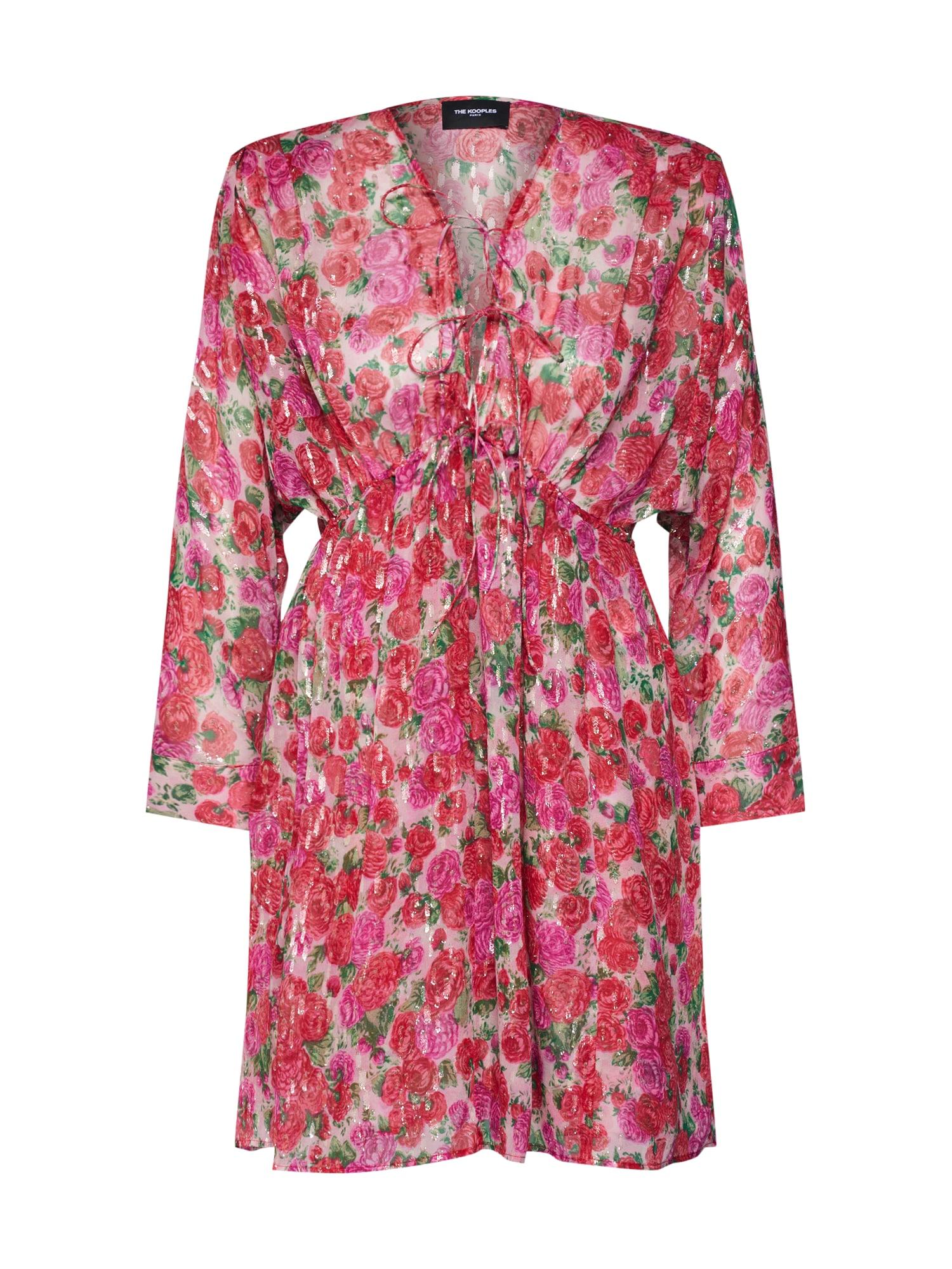 Letní šaty FROB18123K pink The Kooples