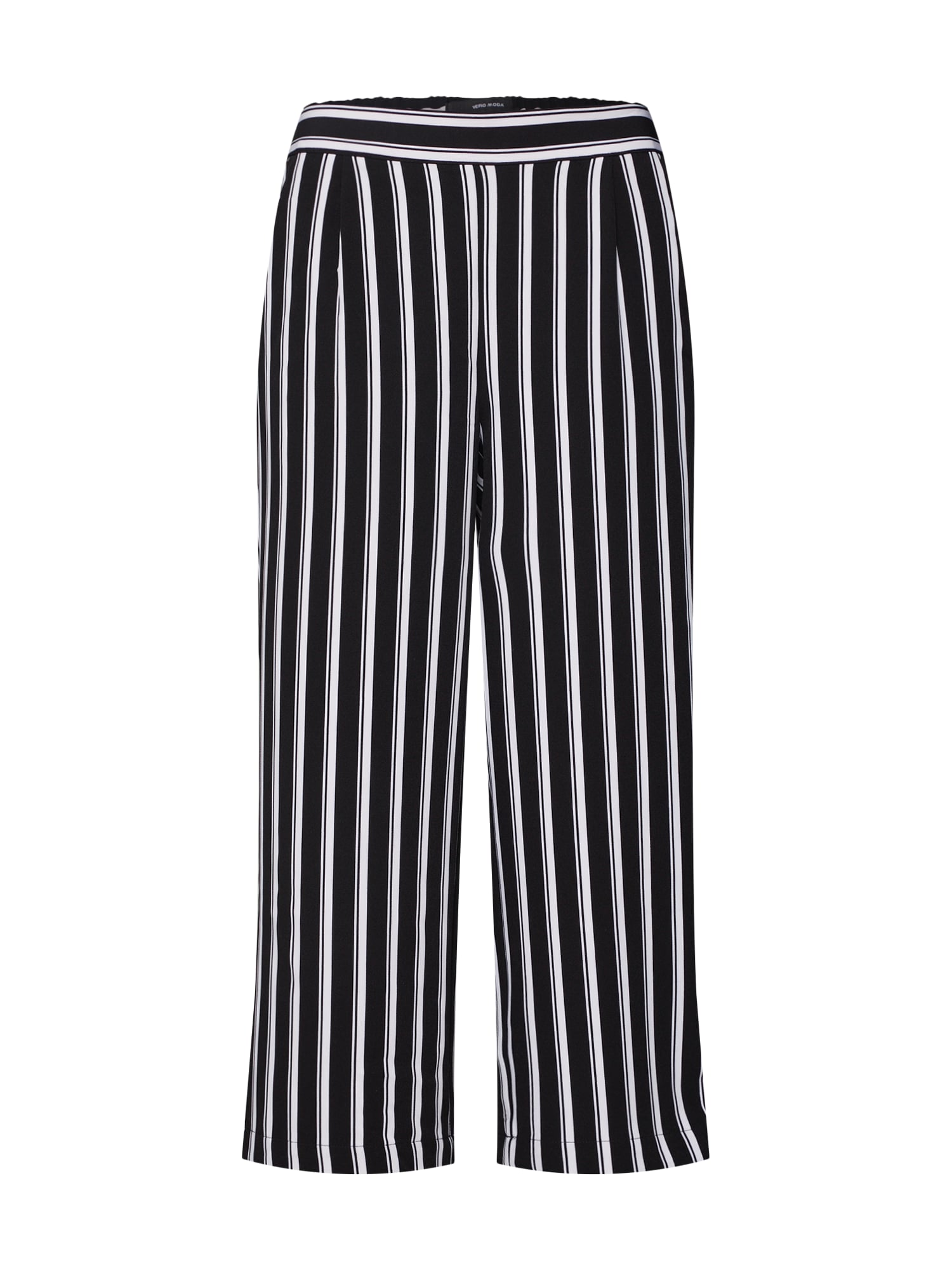 Kalhoty černá bílá VERO MODA