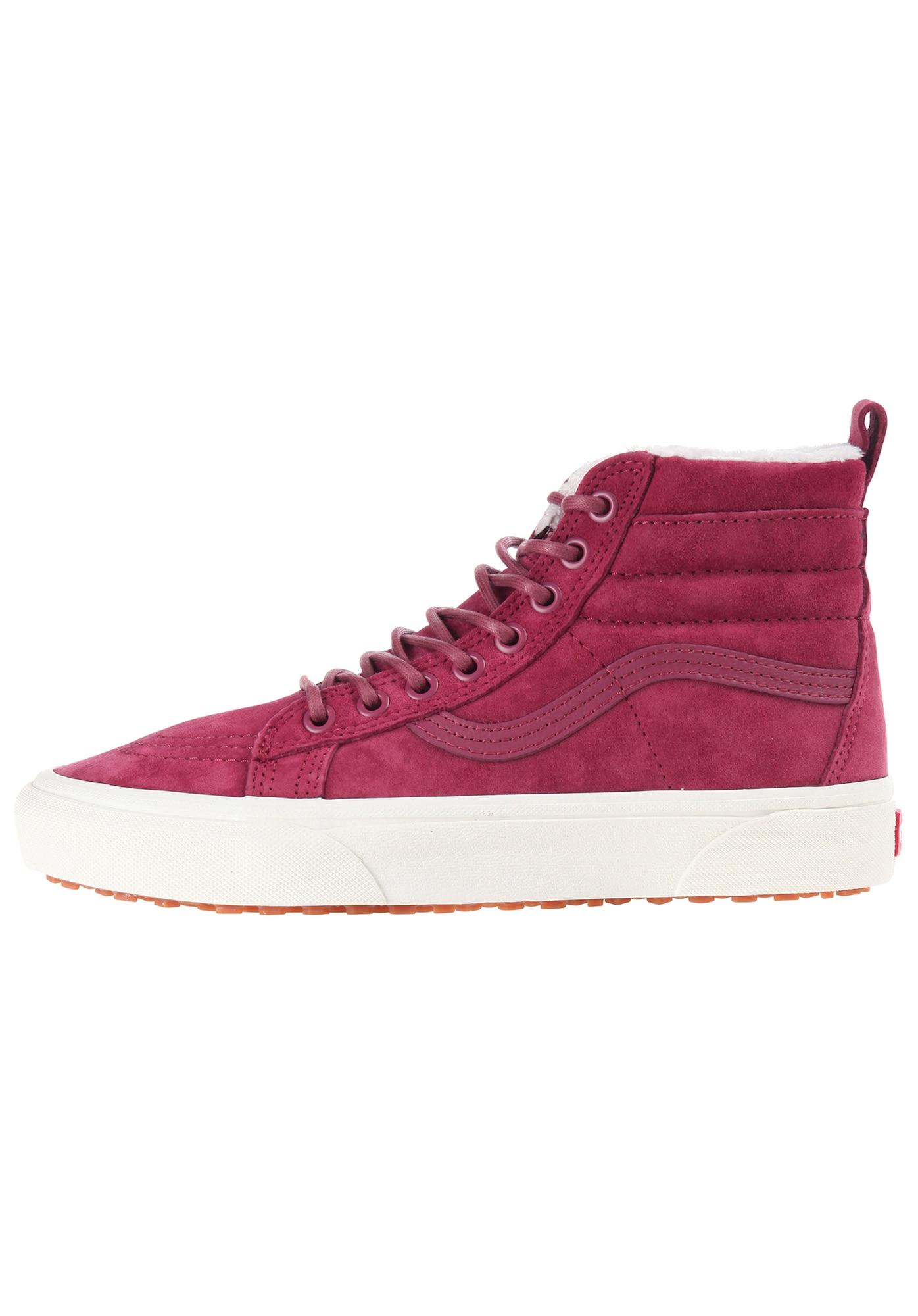 VANS, Dames Sneakers hoog 'Sk8-Hi Mte', framboos
