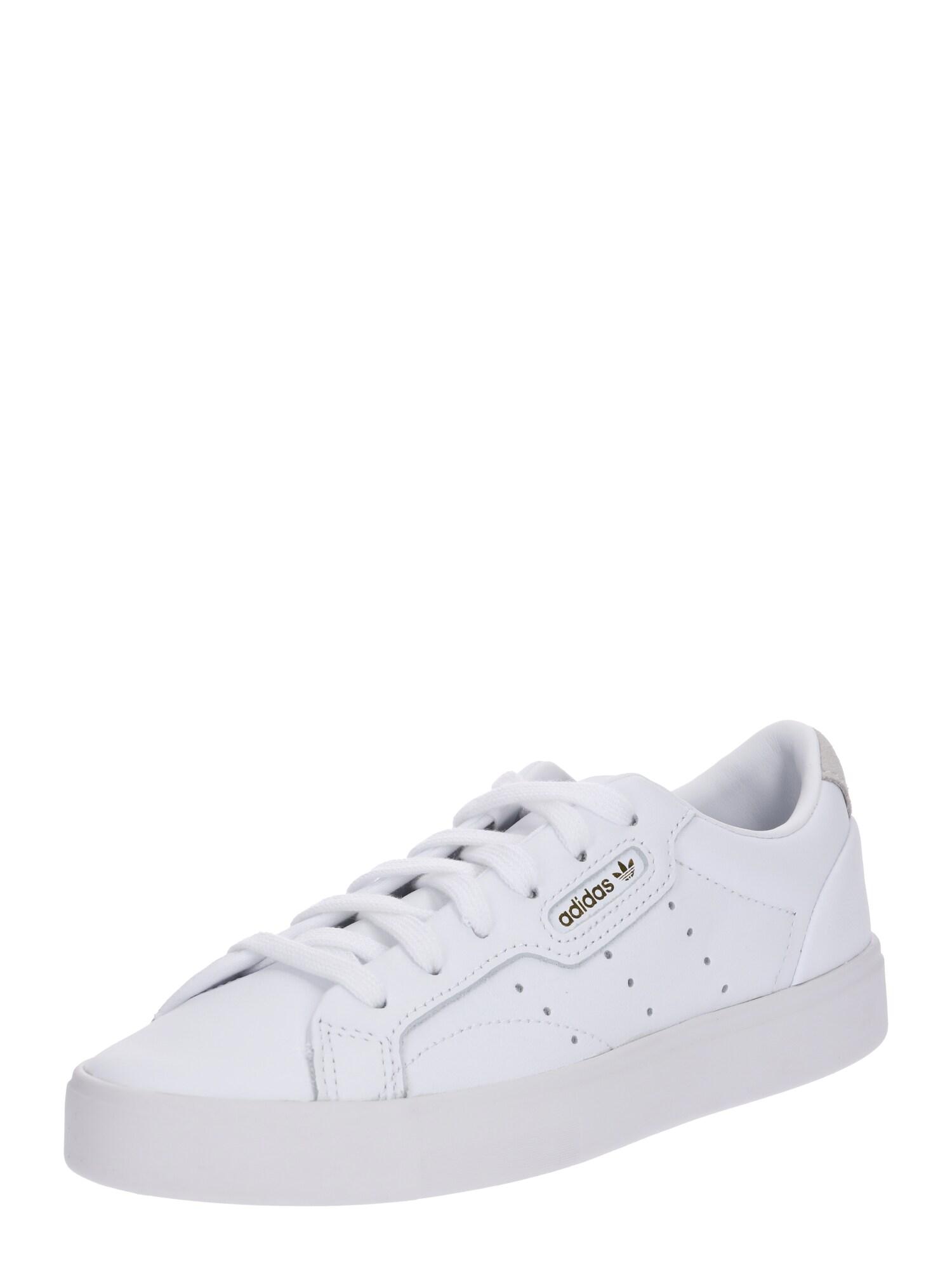 ADIDAS ORIGINALS, Dames Sneakers laag 'Sleek', wit