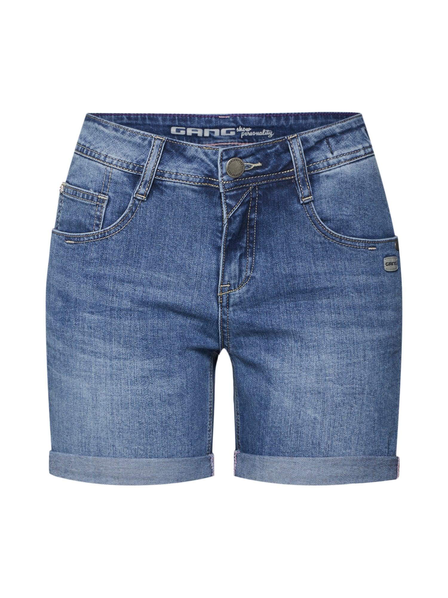 Kalhoty AMELIE modrá džínovina Gang