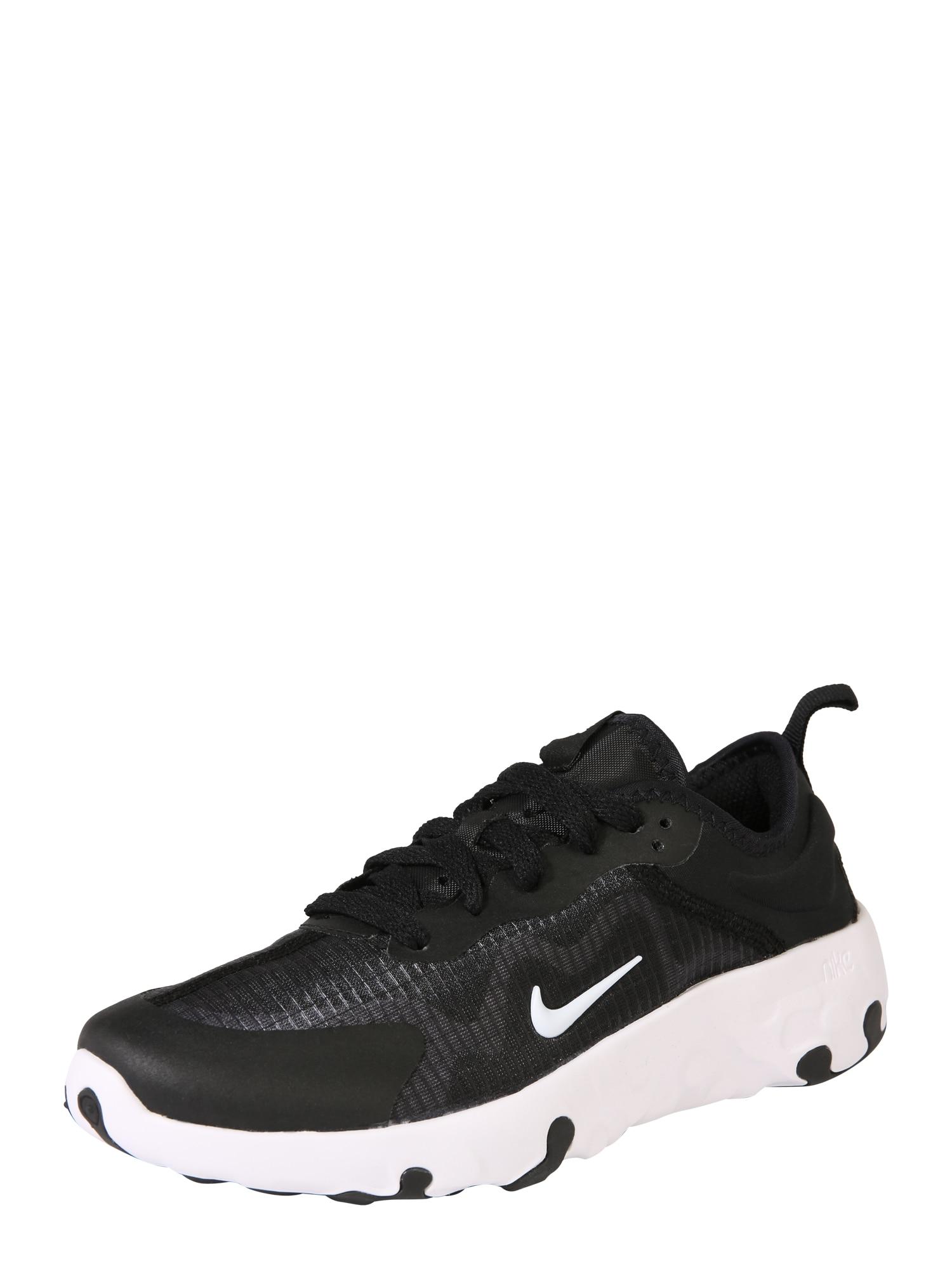 Nike Sportswear Bežecká obuv 'Renew Lucent (GS)'  čierna / biela