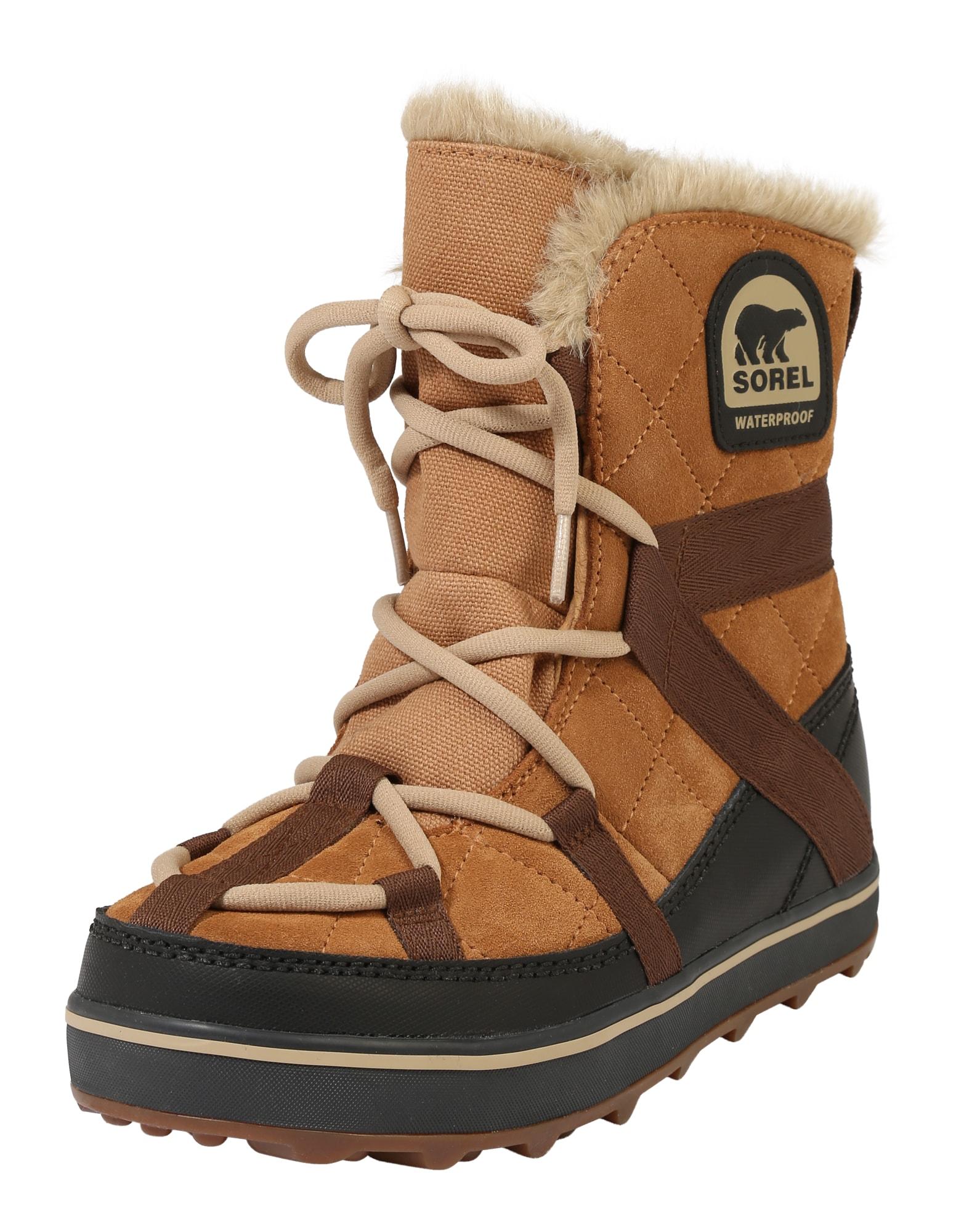 Sněhule Glacy Explorer velbloudí hnědá SOREL