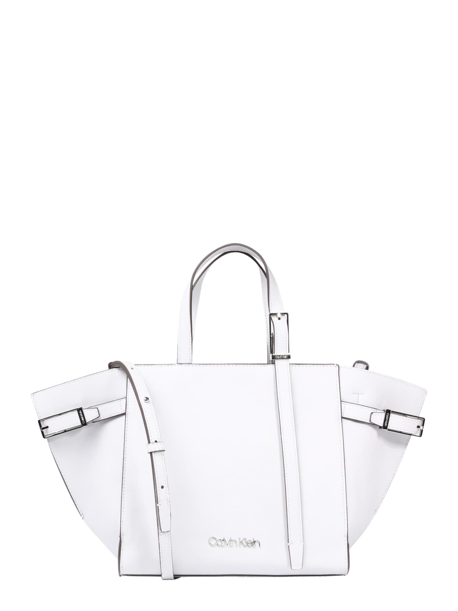 Taška přes rameno EXTENDED TOTE bílá Calvin Klein