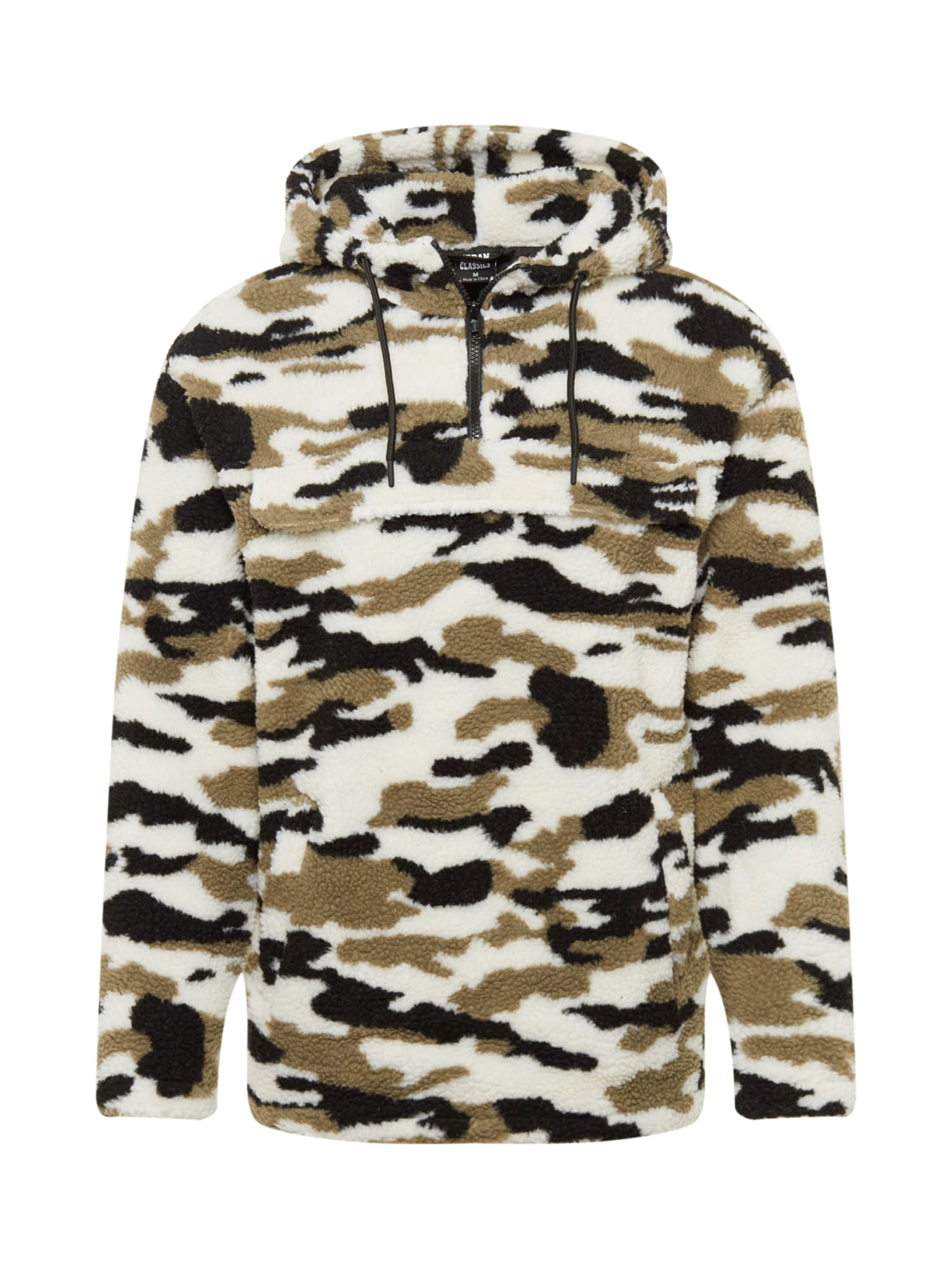 Tussenjas Camo Sherpa Pull Over Jacket