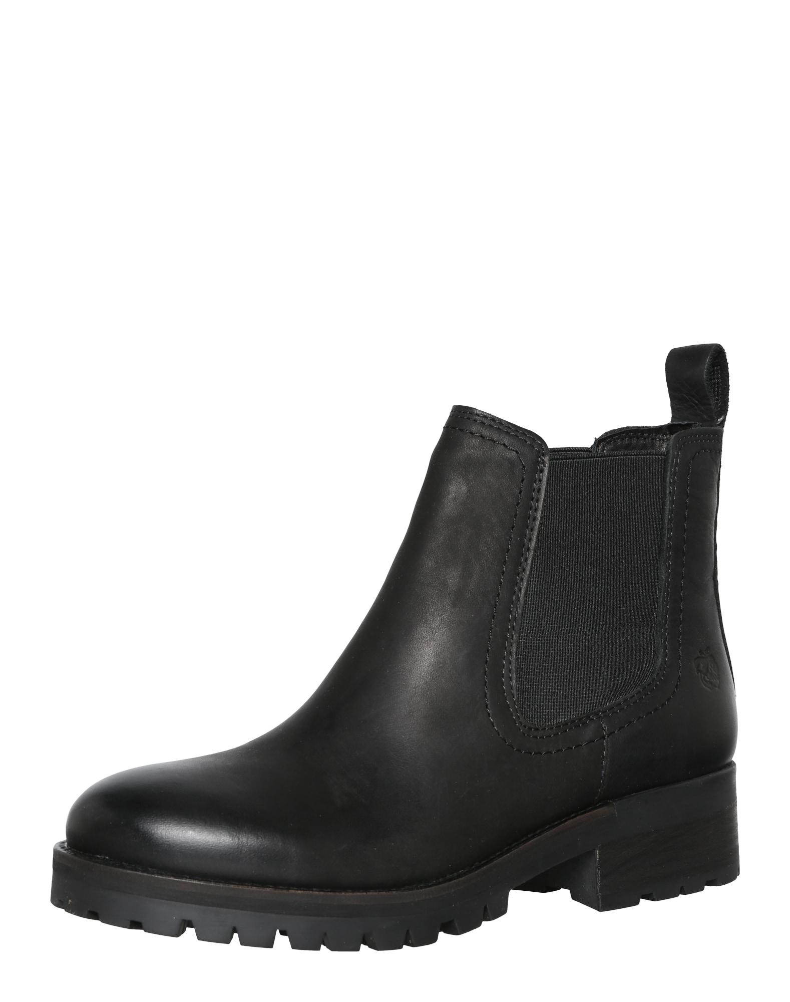 Chelsea Boot 'Monika' | Schuhe > Boots > Chelsea-Boots | Schwarz | Apple Of Eden