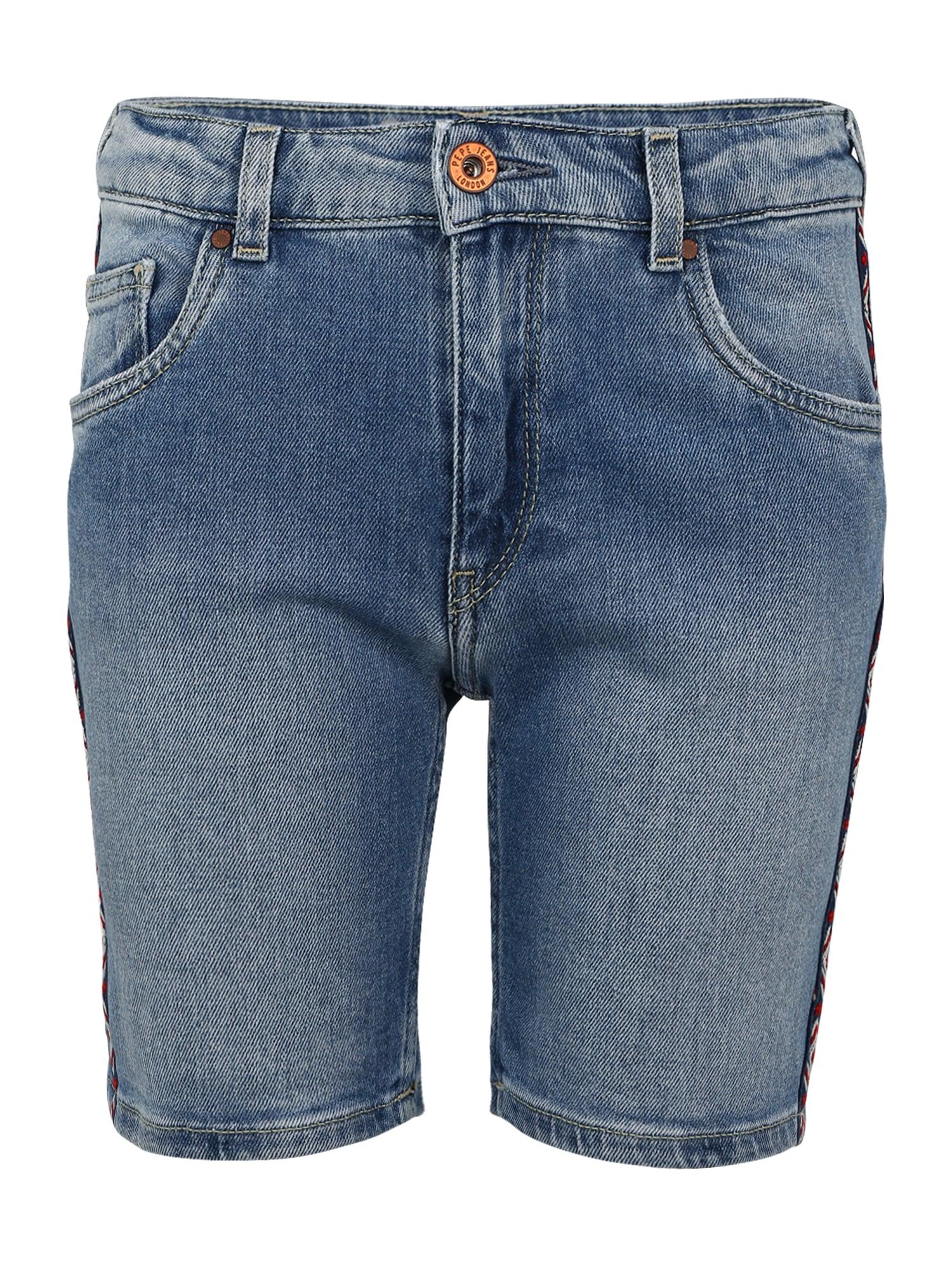 Pepe Jeans Meisjes Jeans MELANIE ZIG ZAG blue denim