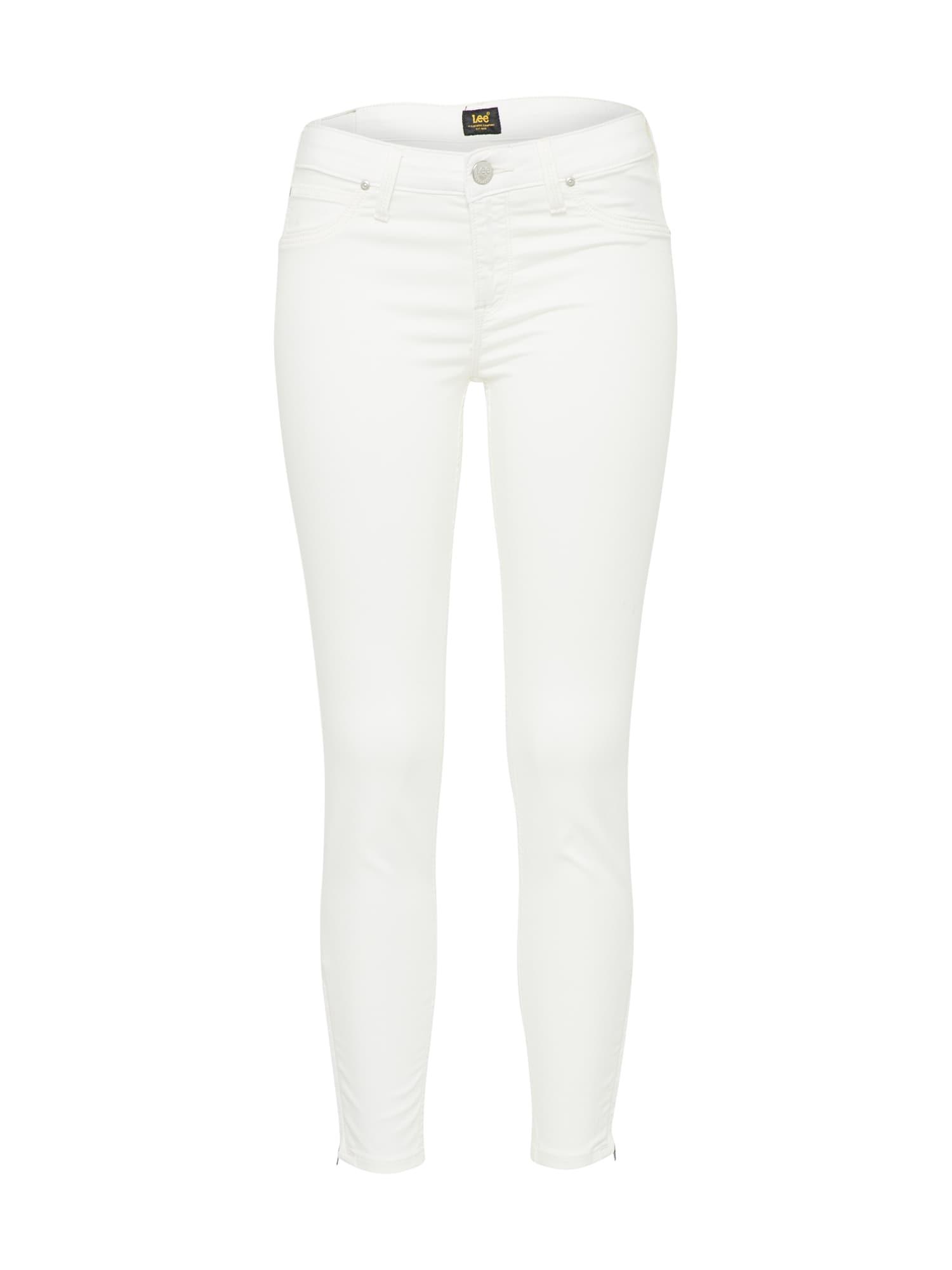 Lee Dames Jeans SCARLETT white denim