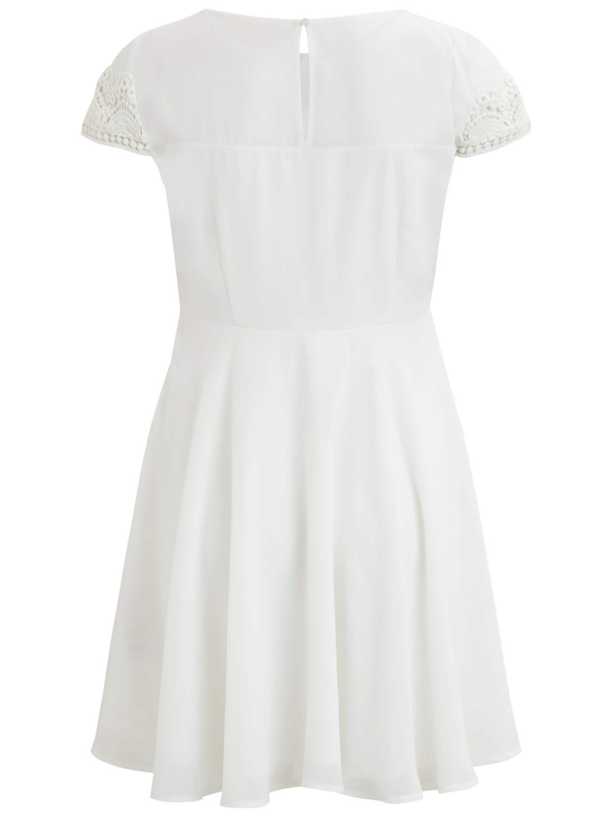 VILA Sukienka koktajlowa  biały