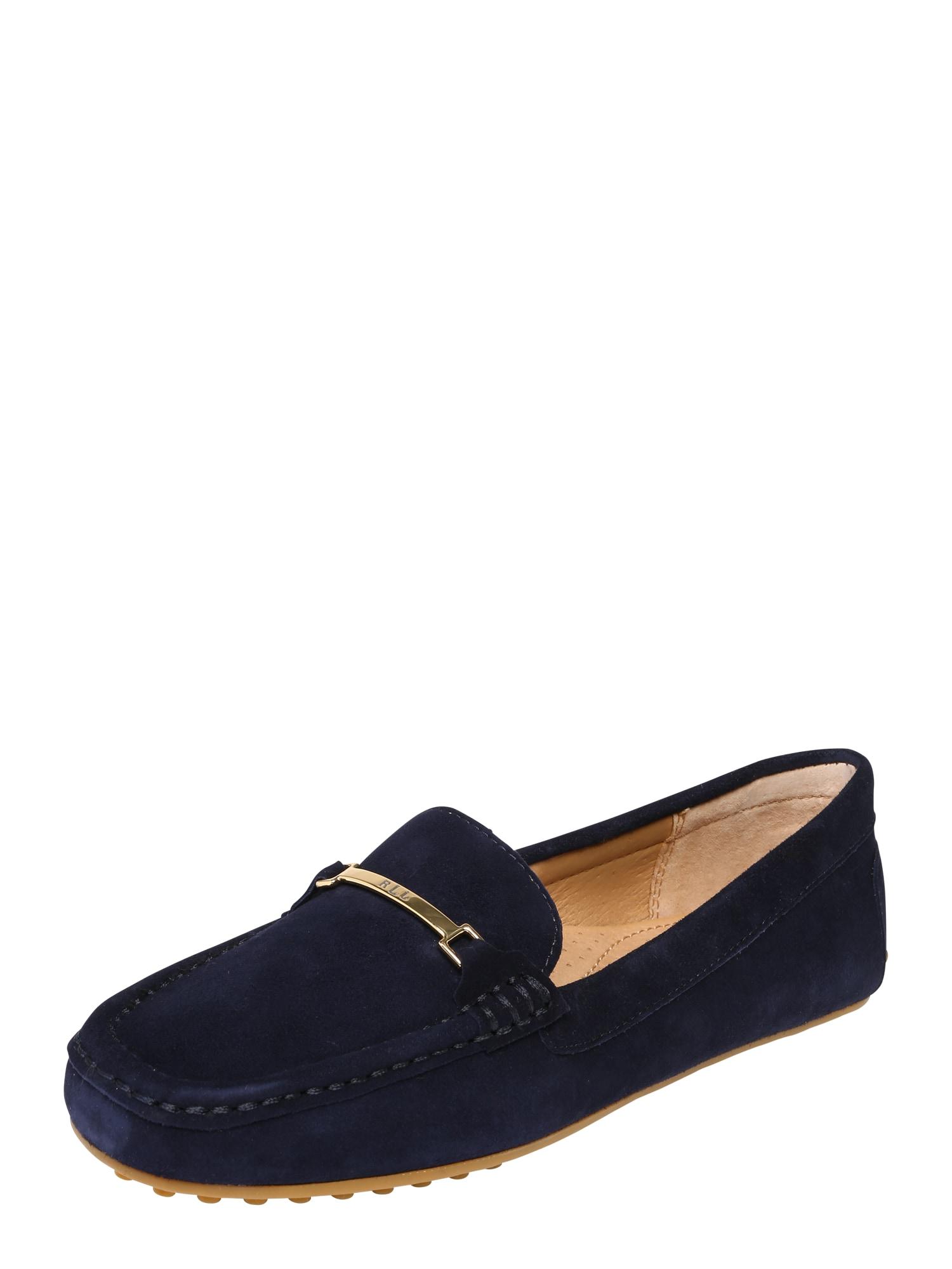 Slipper BRIONY-FLATS-CASUAL námořnická modř Lauren Ralph Lauren