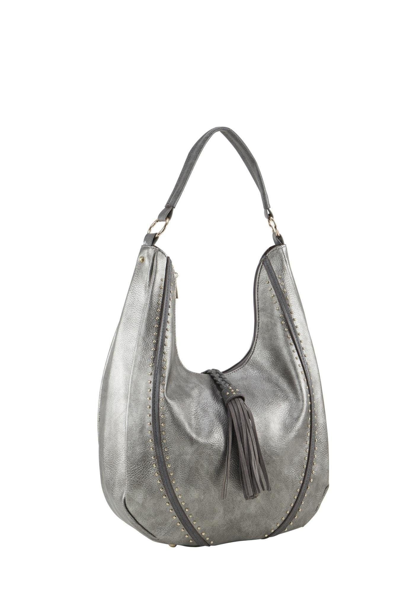 Tasche   Taschen > Handtaschen > Sonstige Handtaschen   Grau   heine