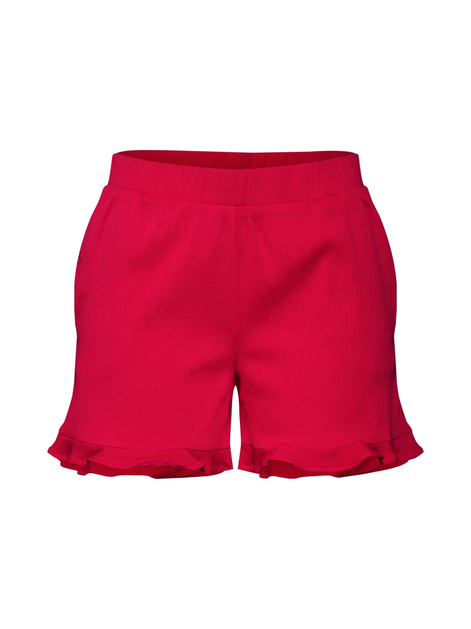 Kalhoty NMCOSMO NW červená Noisy May
