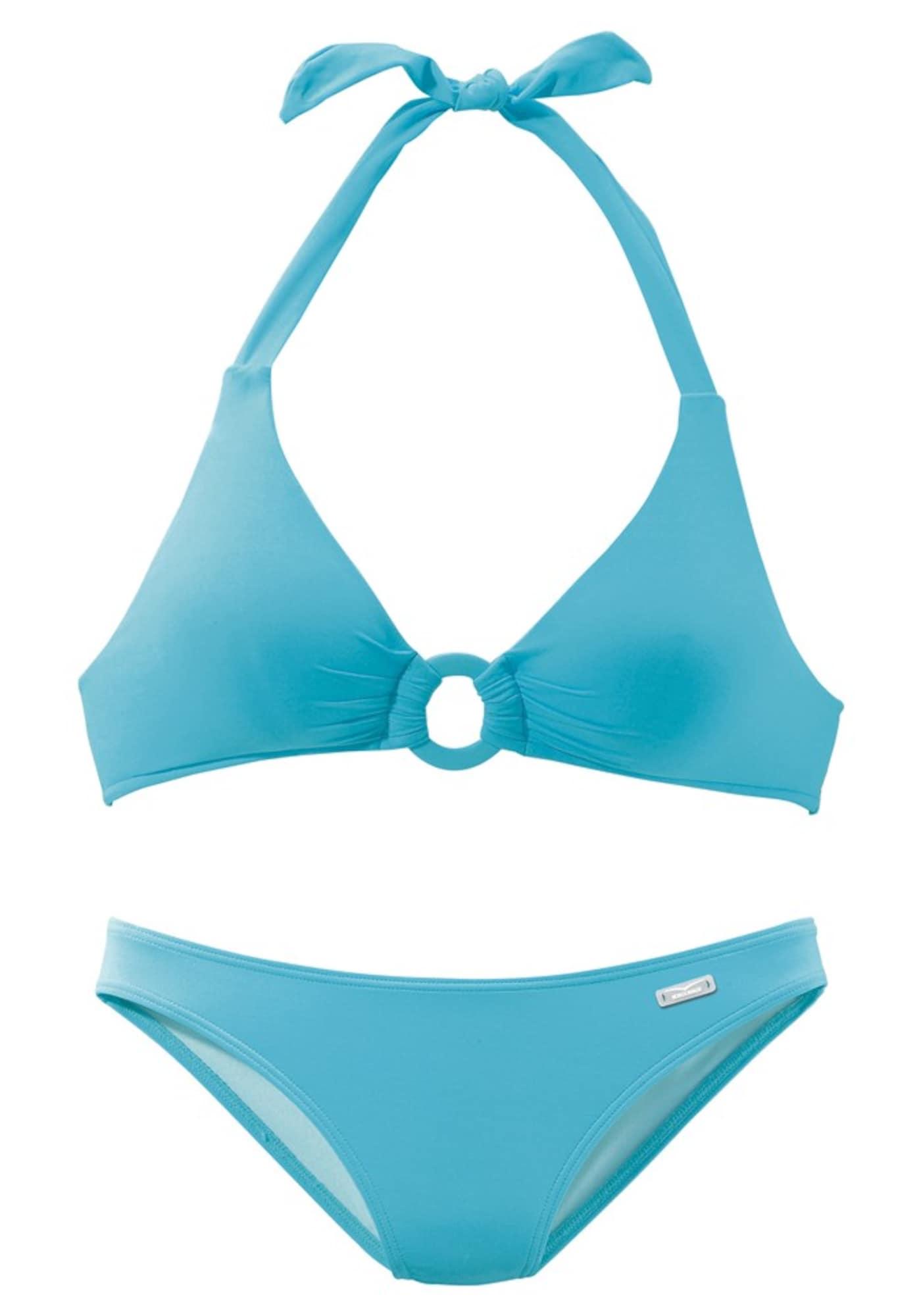 Bikiny aqua modrá světlemodrá VENICE BEACH
