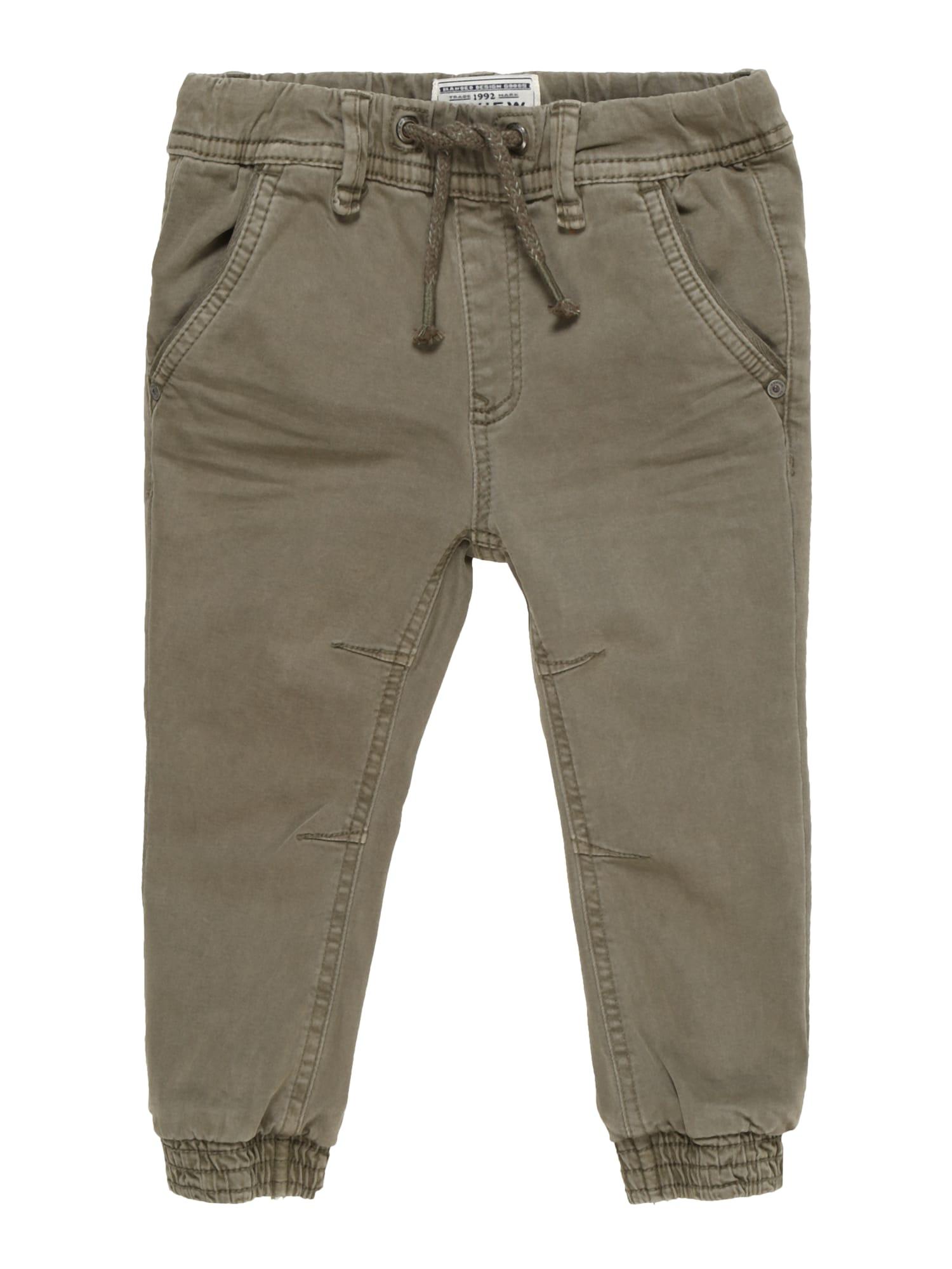 Kalhoty KB-19-P601 olivová REVIEW FOR KIDS