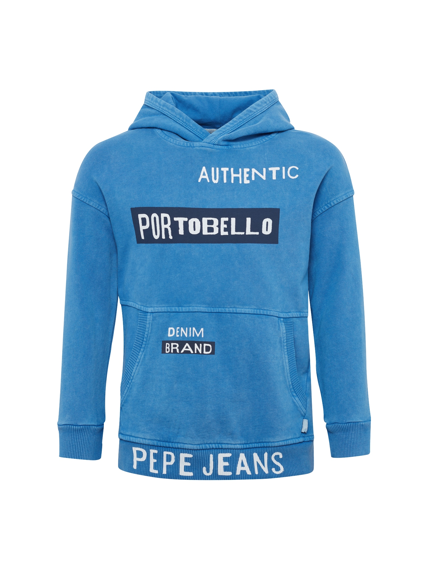 Pepe Jeans Jongens Sweatshirt SIM JR royal blue koningsblauw