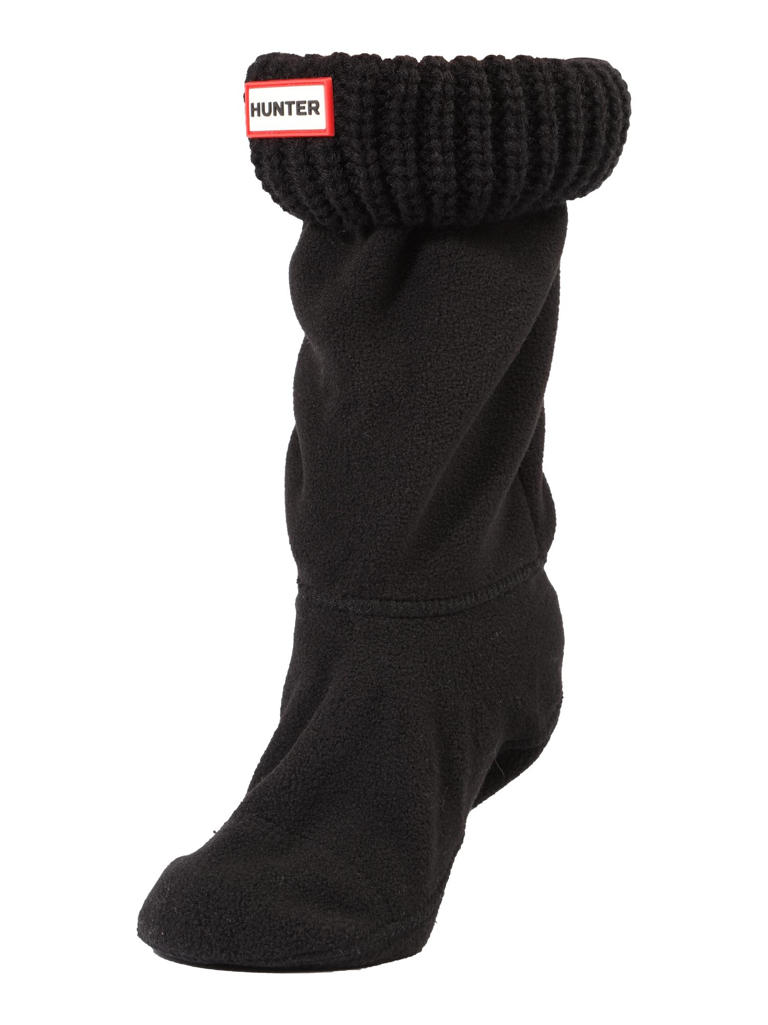 Ponožky HALF CARDIGAN černá HUNTER