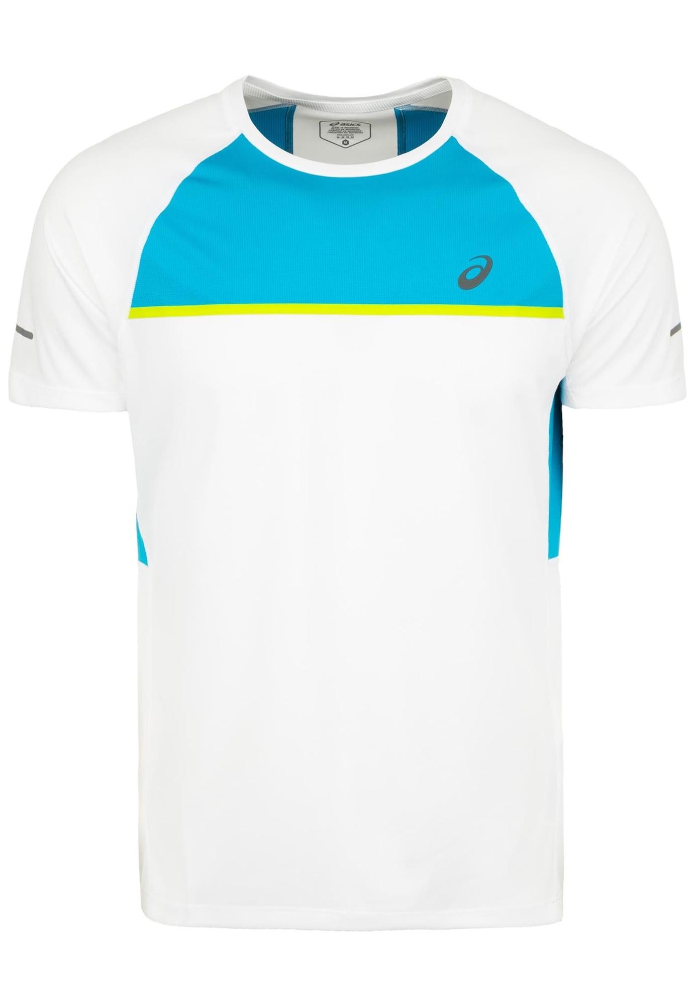 'Seamless' Laufshirt | Sportbekleidung > Sportshirts > Laufshirts | Blau - Weiß | ASICS
