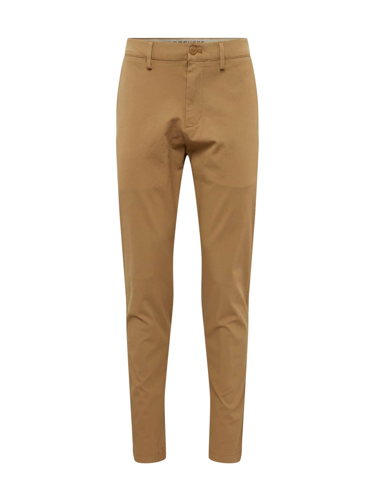 Chino kalhoty béžová tmavě béžová Dockers