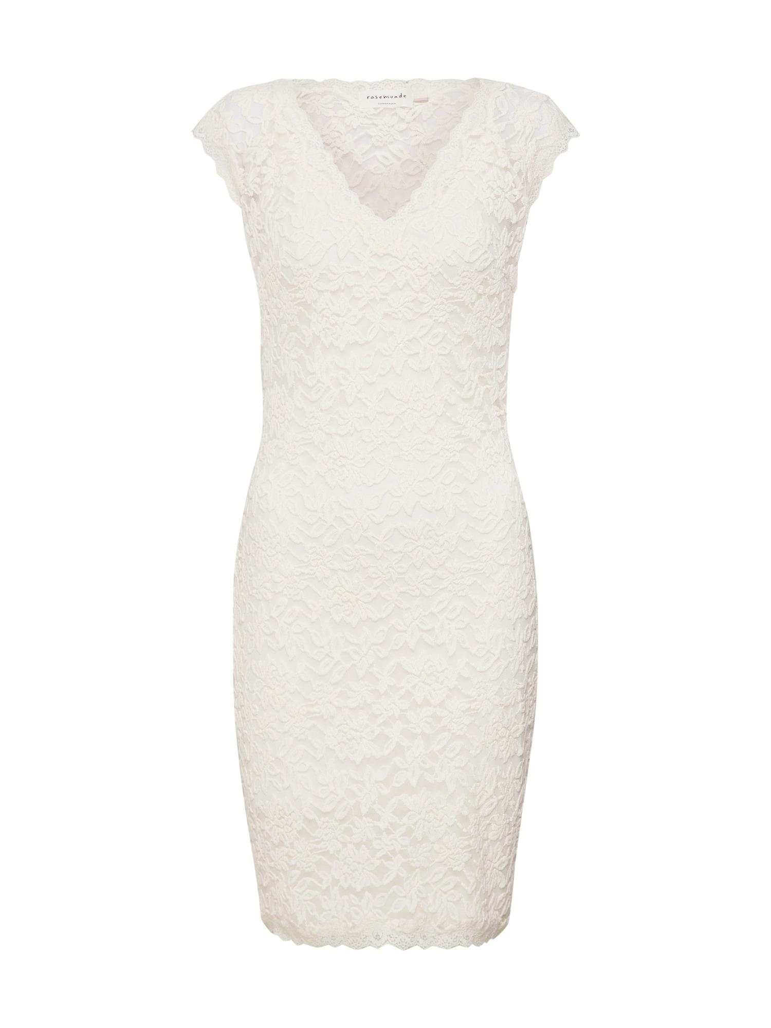 Společenské šaty Dress ss slonová kost Rosemunde
