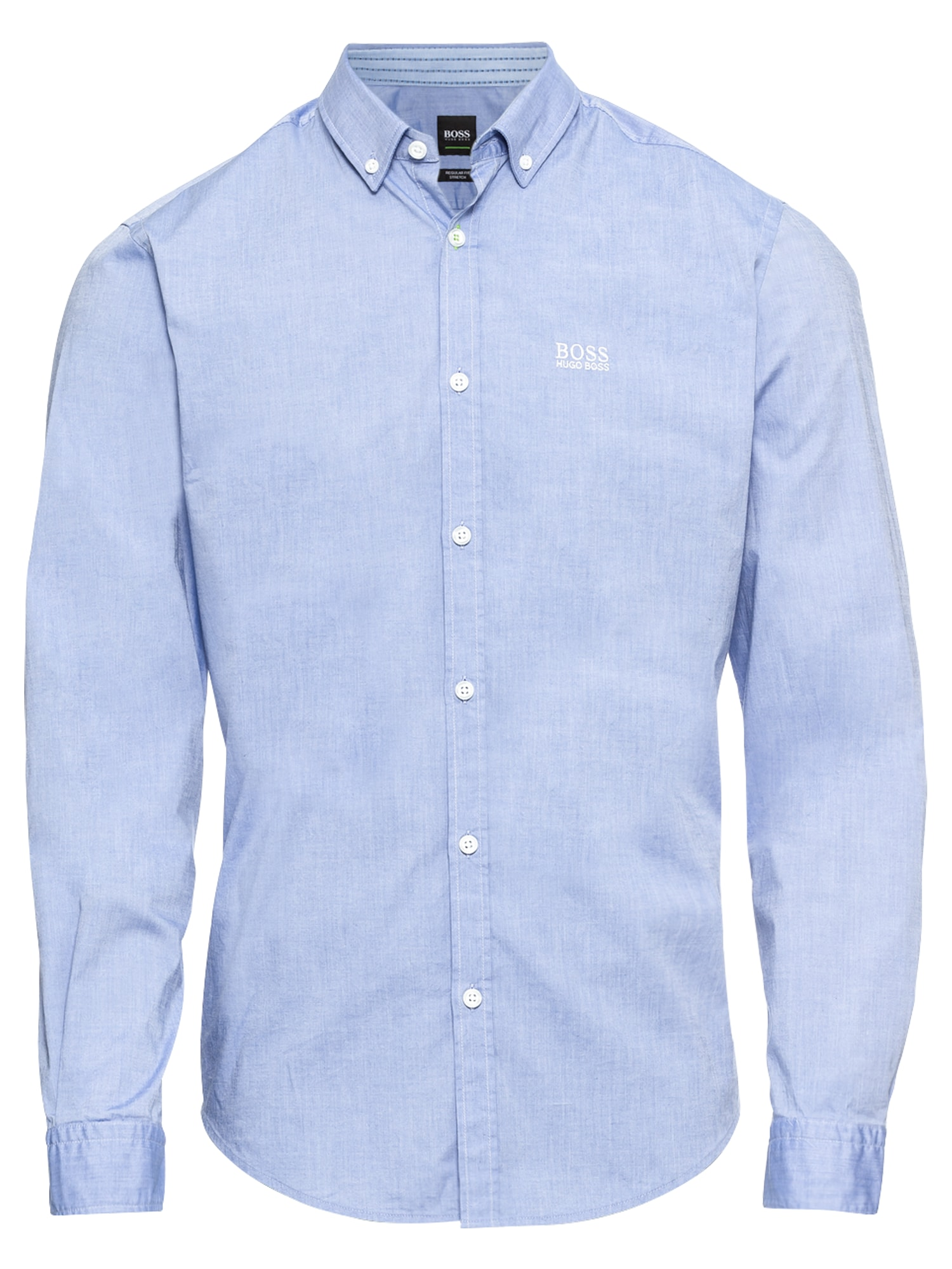 Společenská košile BIADO_R 10205714 02 modrá BOSS