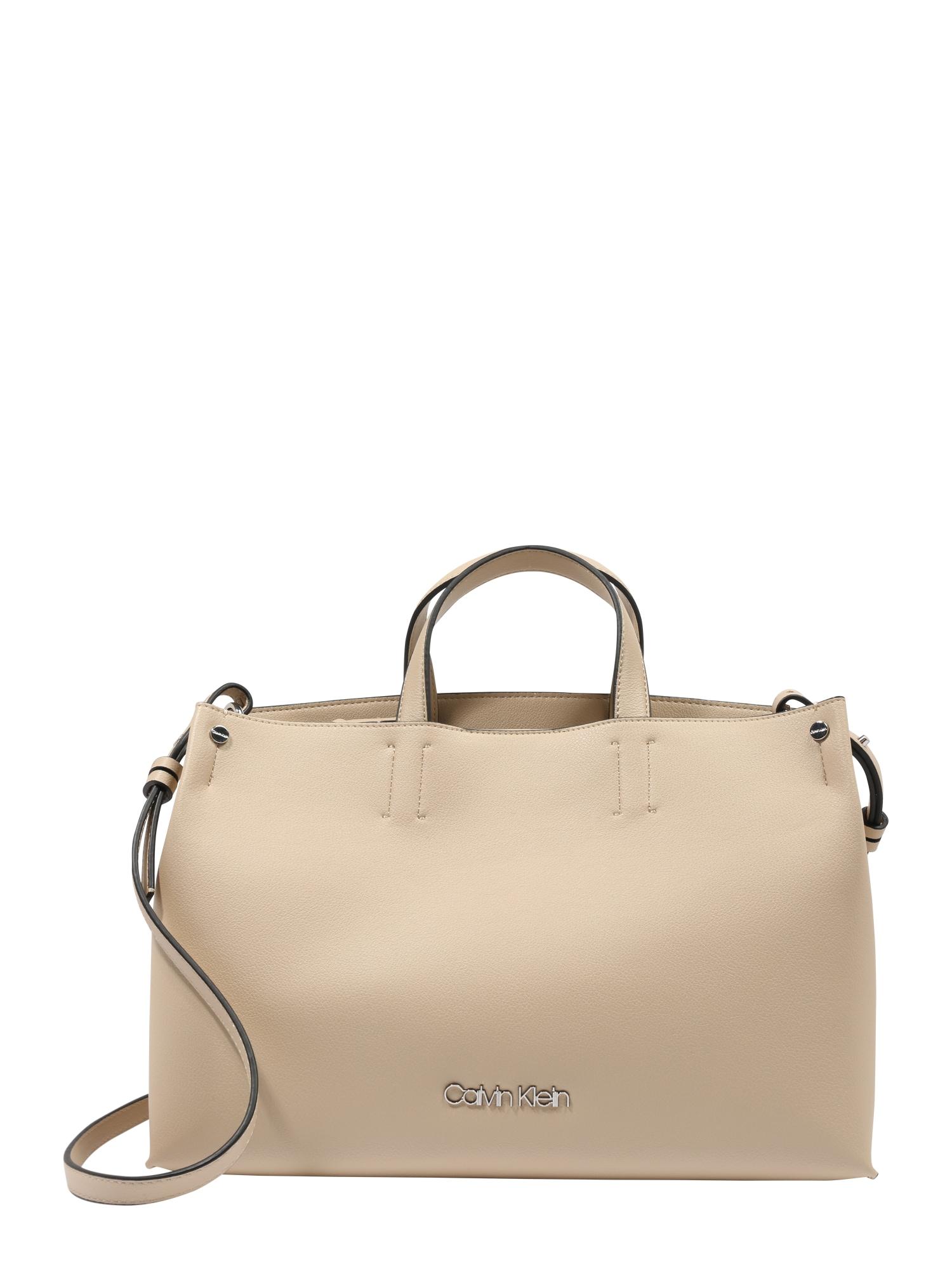 Nákupní taška TACK TOTE písková Calvin Klein