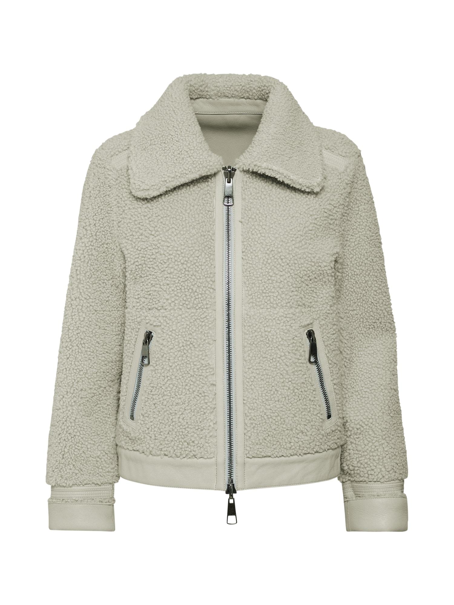 Zimní bunda Juwish stříbrně šedá BOSS