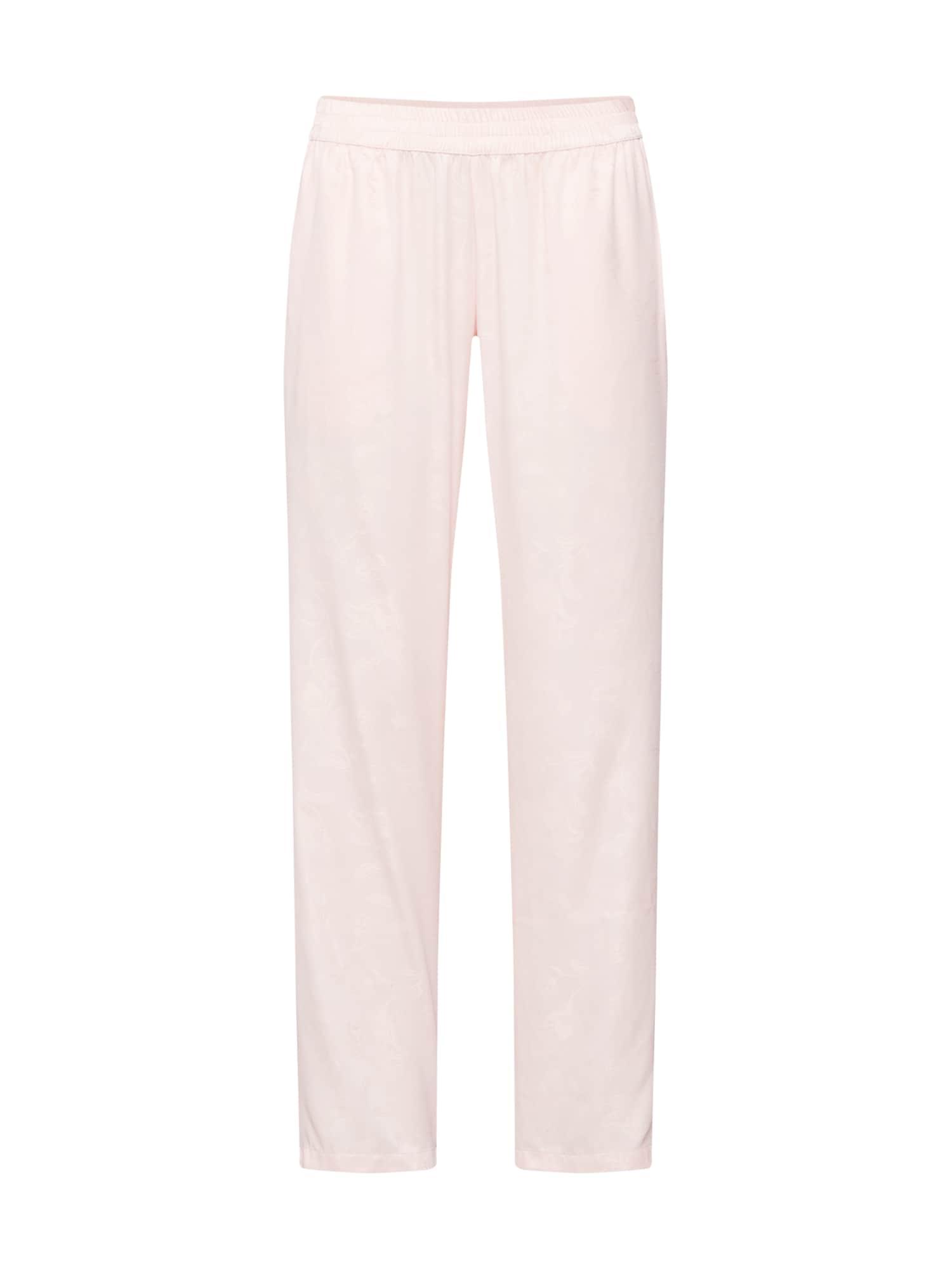 Pyžamové kalhoty Pant Satin Jacquard Paisley pink Hunkemöller