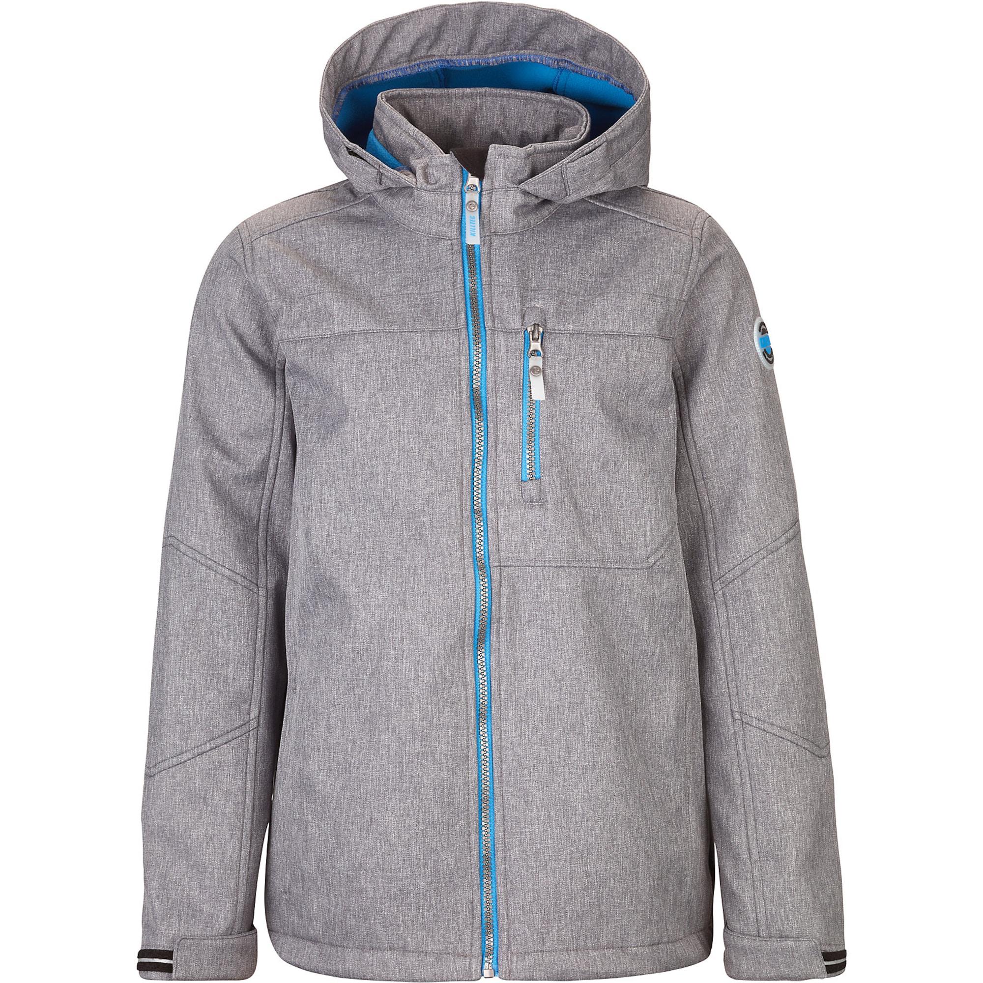 Funkční bunda Paden světlemodrá šedý melír KILLTEC