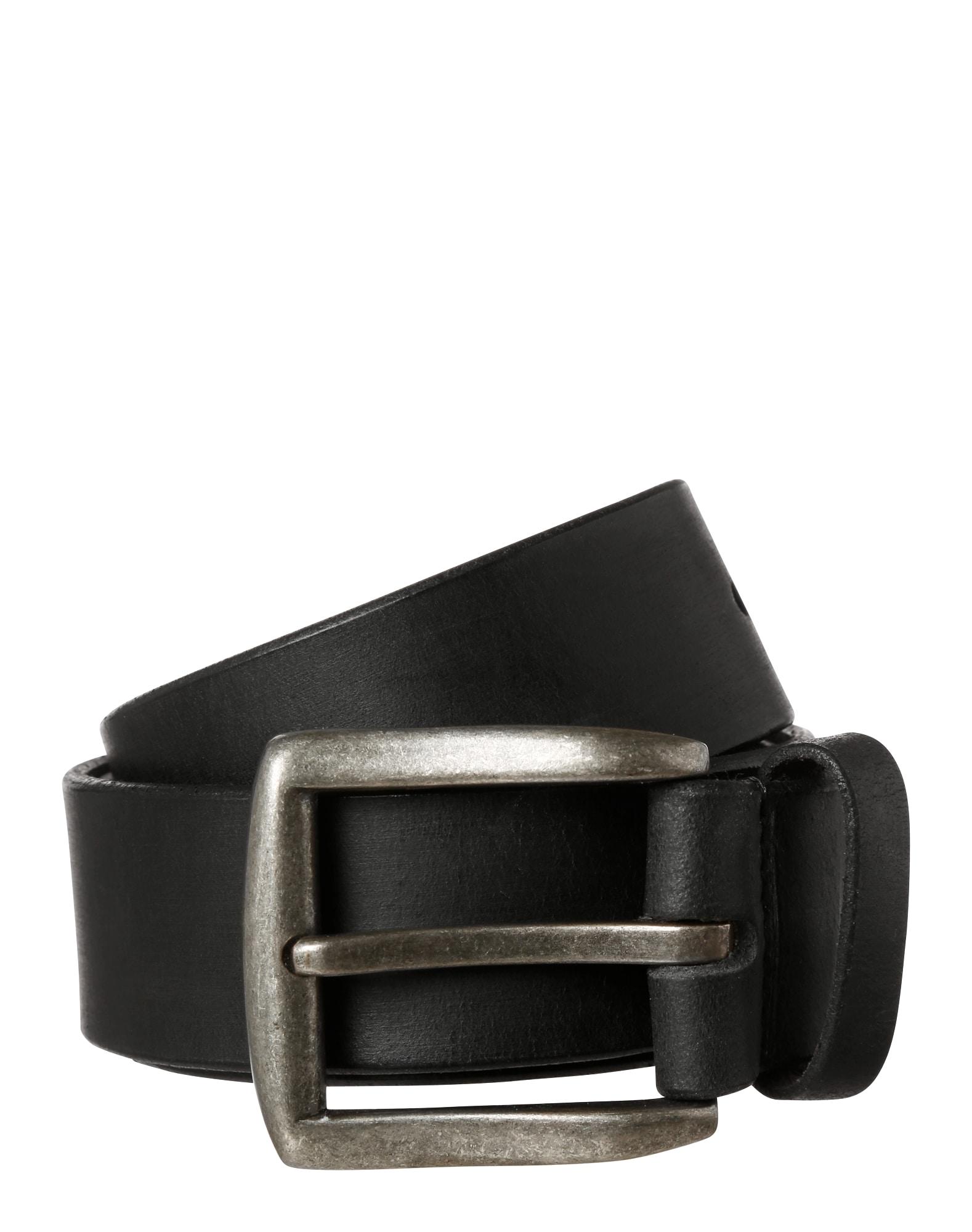 Leder-Gürtel | Accessoires > Gürtel > Ledergürtel | Schwarz | PIECES