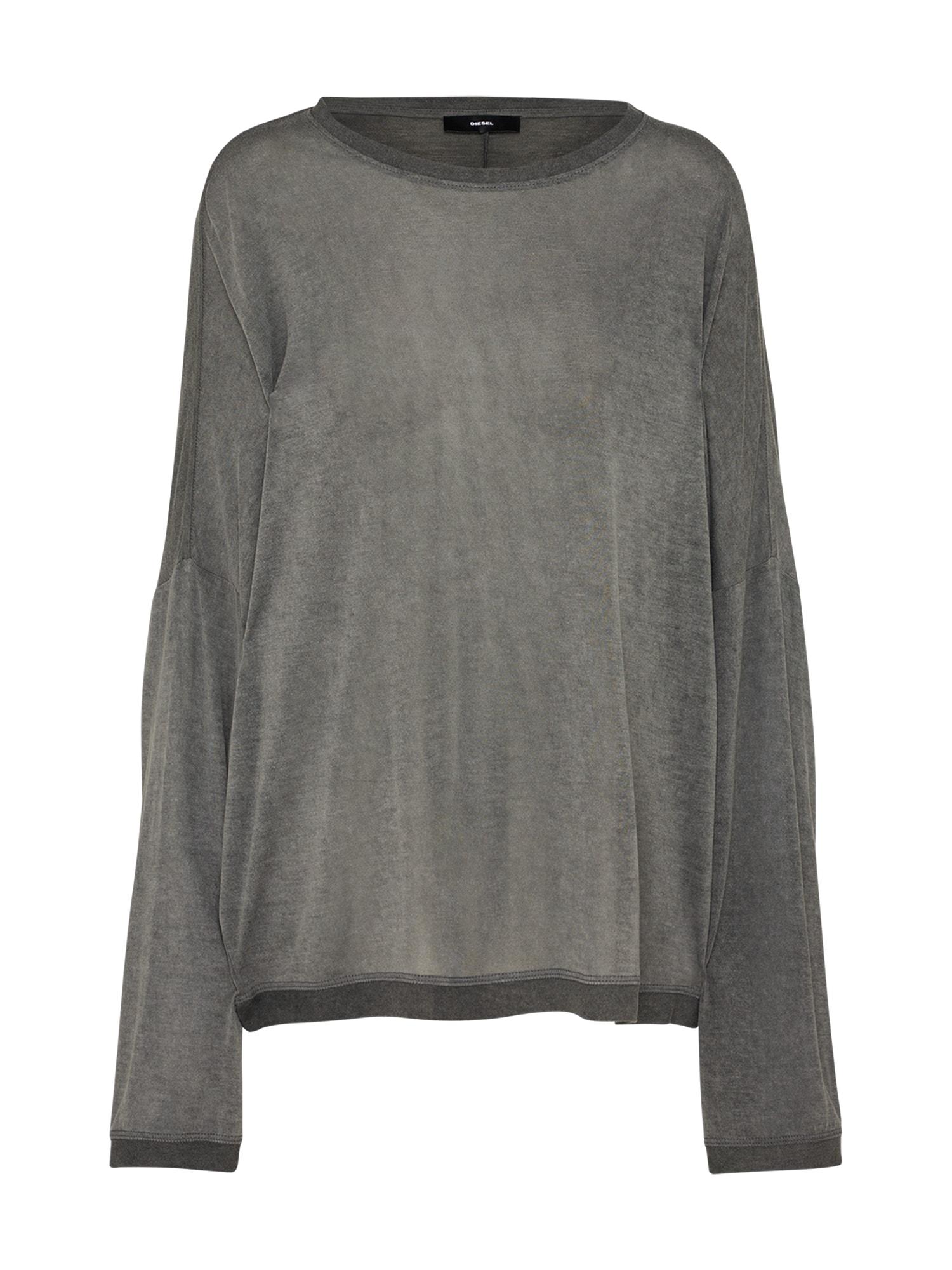 DIESEL Dames Oversized shirt T-GERTRUDE-H donkergrijs