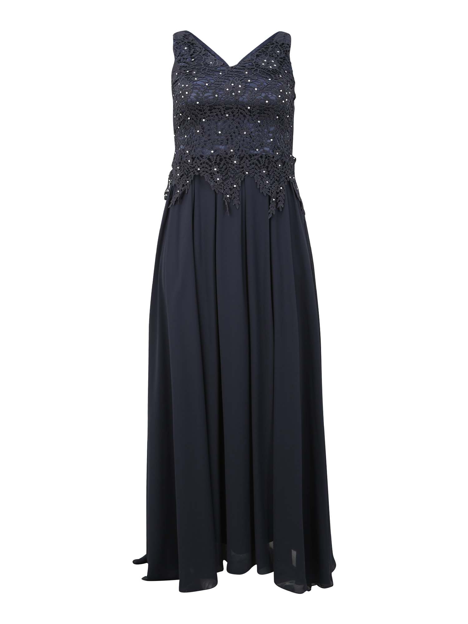 SWING Curve Společenské šaty  tmavě modrá