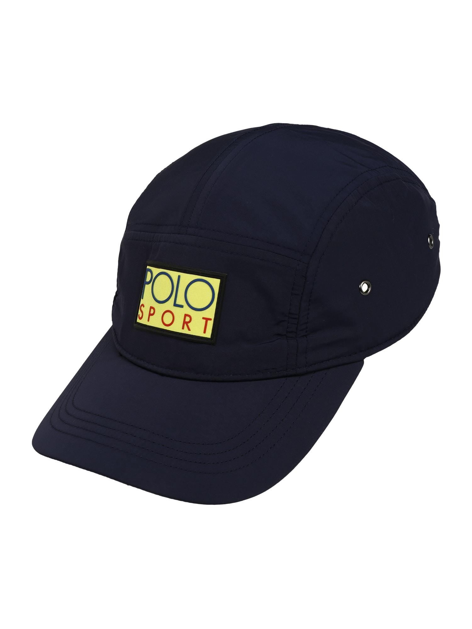 POLO RALPH LAUREN Kšiltovka  žlutá / námořnická modř