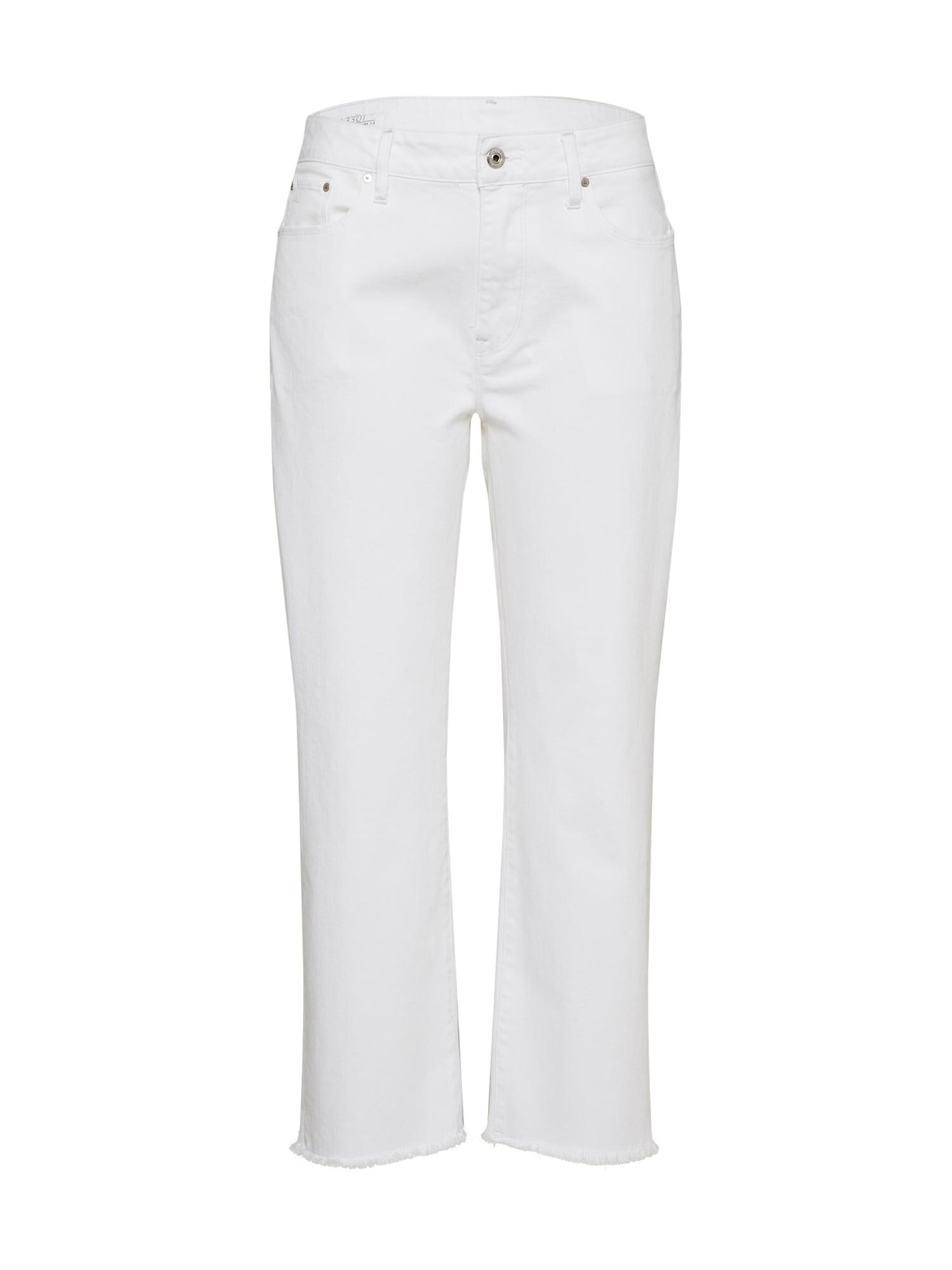 G-STAR RAW Dames Jeans white denim