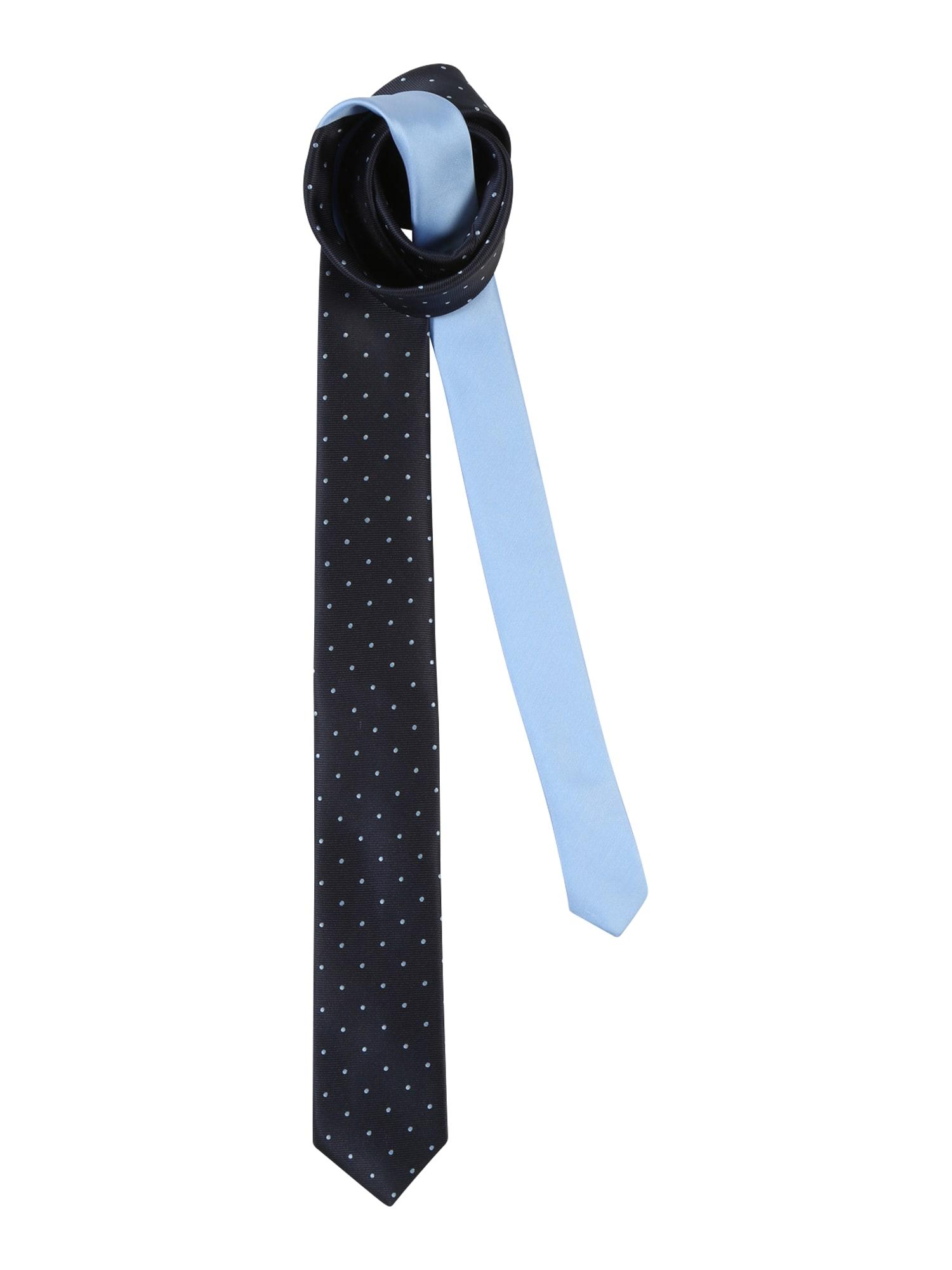 Kravata dotted tie námořnická modř Esprit Collection