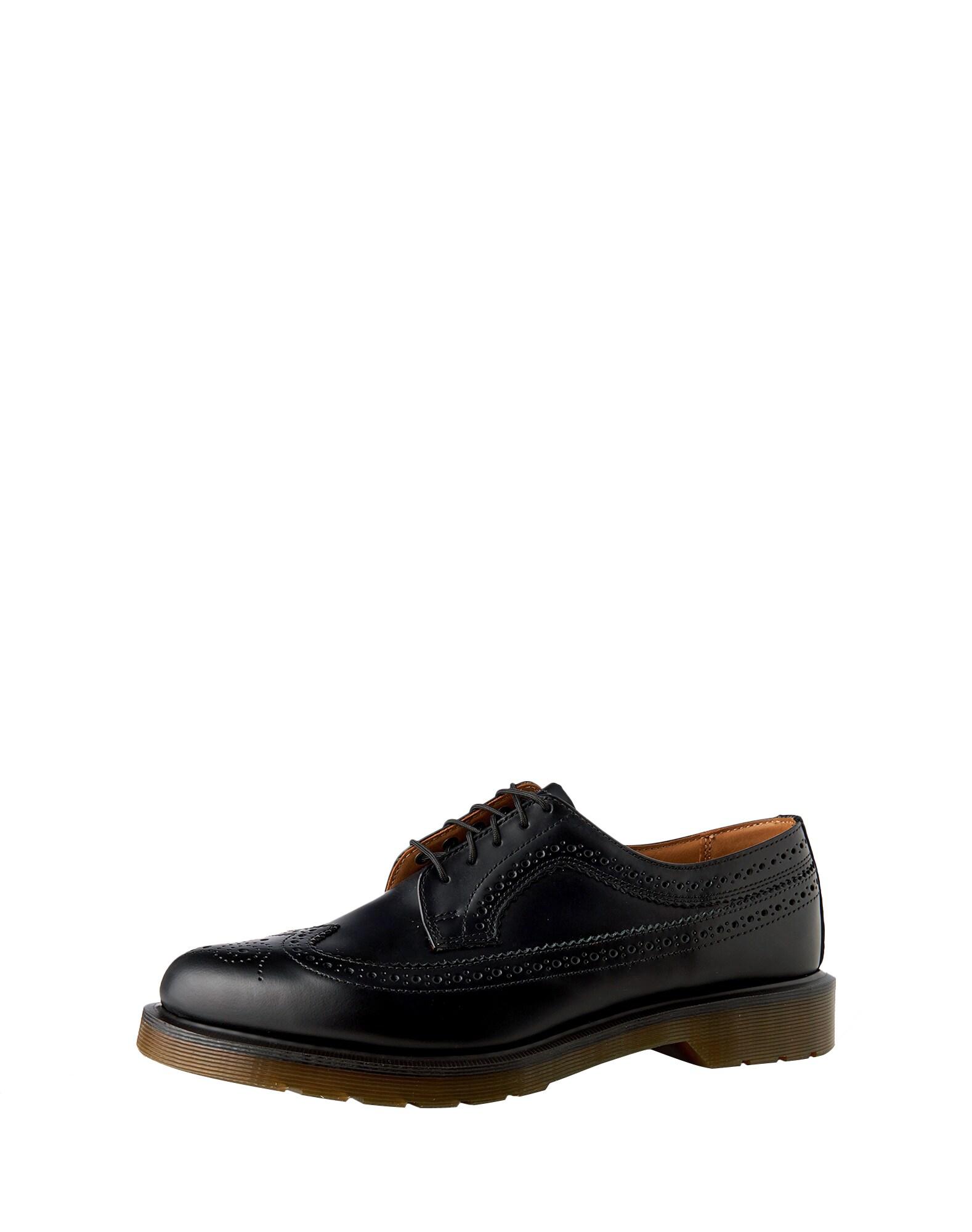 Šněrovací boty 3989 59 Last Brogue hnědá černá Dr. Martens