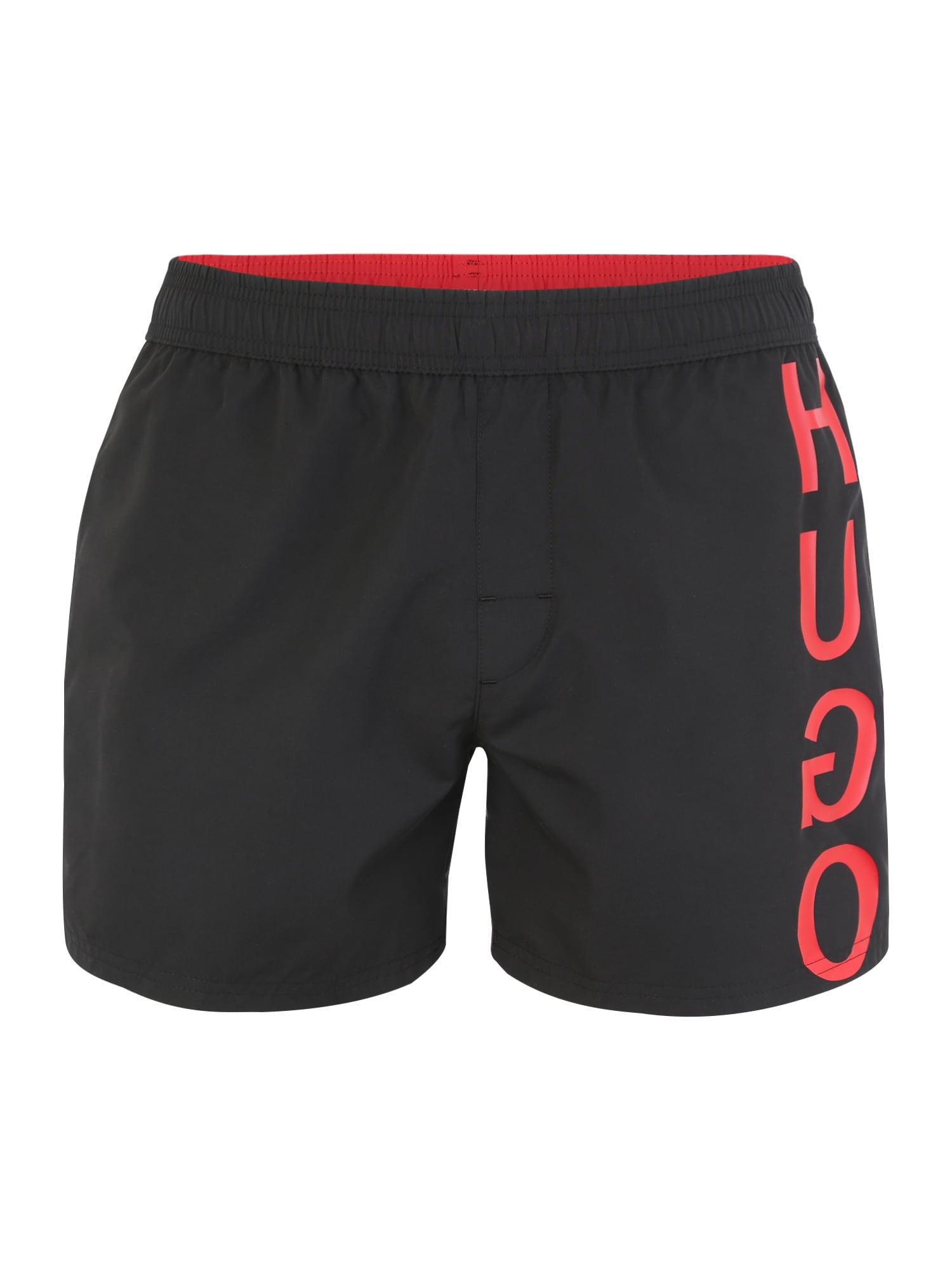 Plavecké šortky 50412381 černá HUGO
