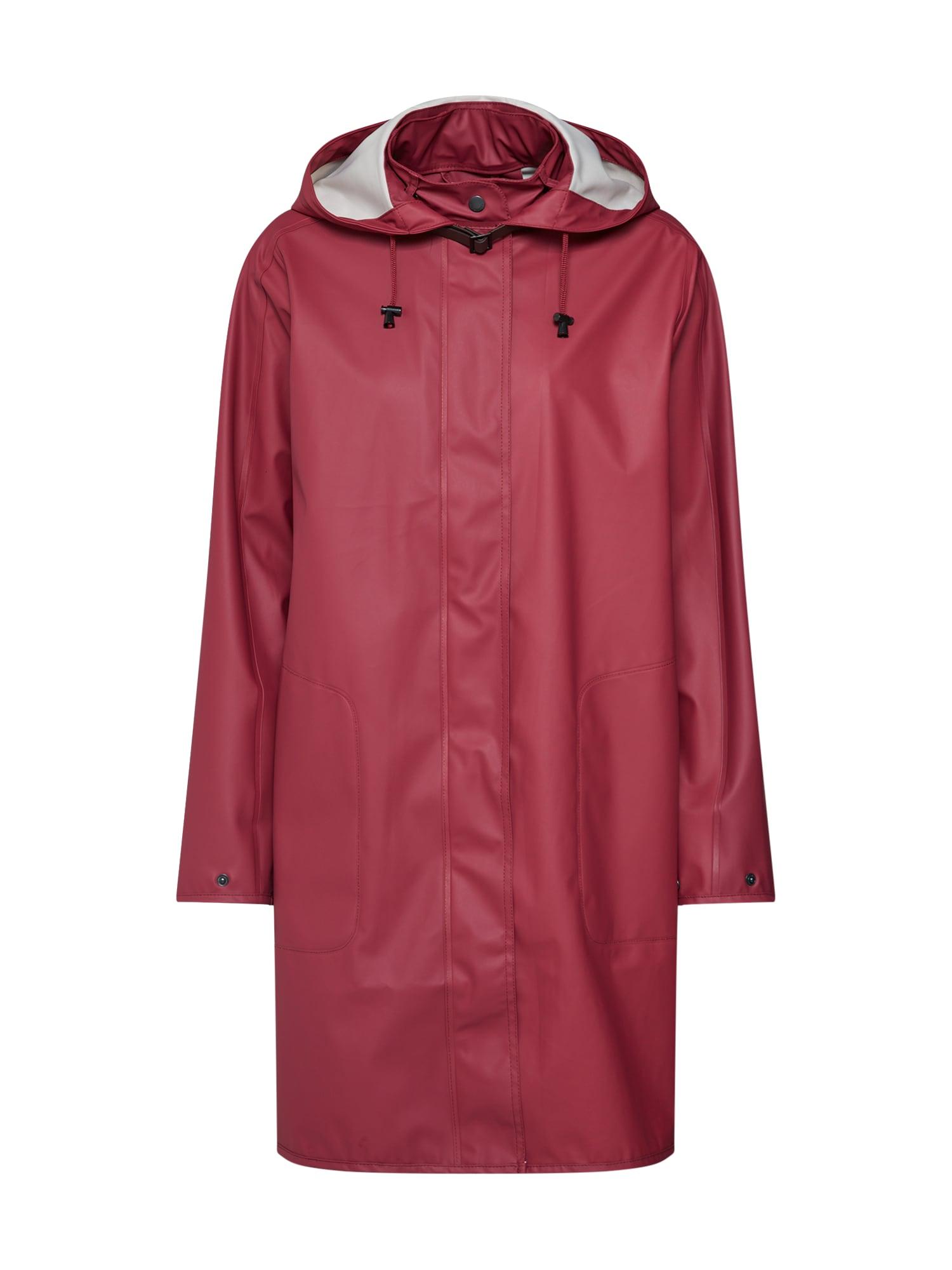 Přechodný kabát rezavě červená ILSE JACOBSEN