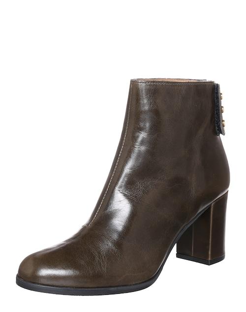 Der Ankle Boot ´Zoe´ der Marke EDITED the label überzeugt mit tollen Stitching-Details, die durch den cleanen Look des Echt-Leder-Schuhs perfekt in Szene gesetzt werden! Zipper und Klettverschluss helfen dabei, ganz schnell und einfach in den