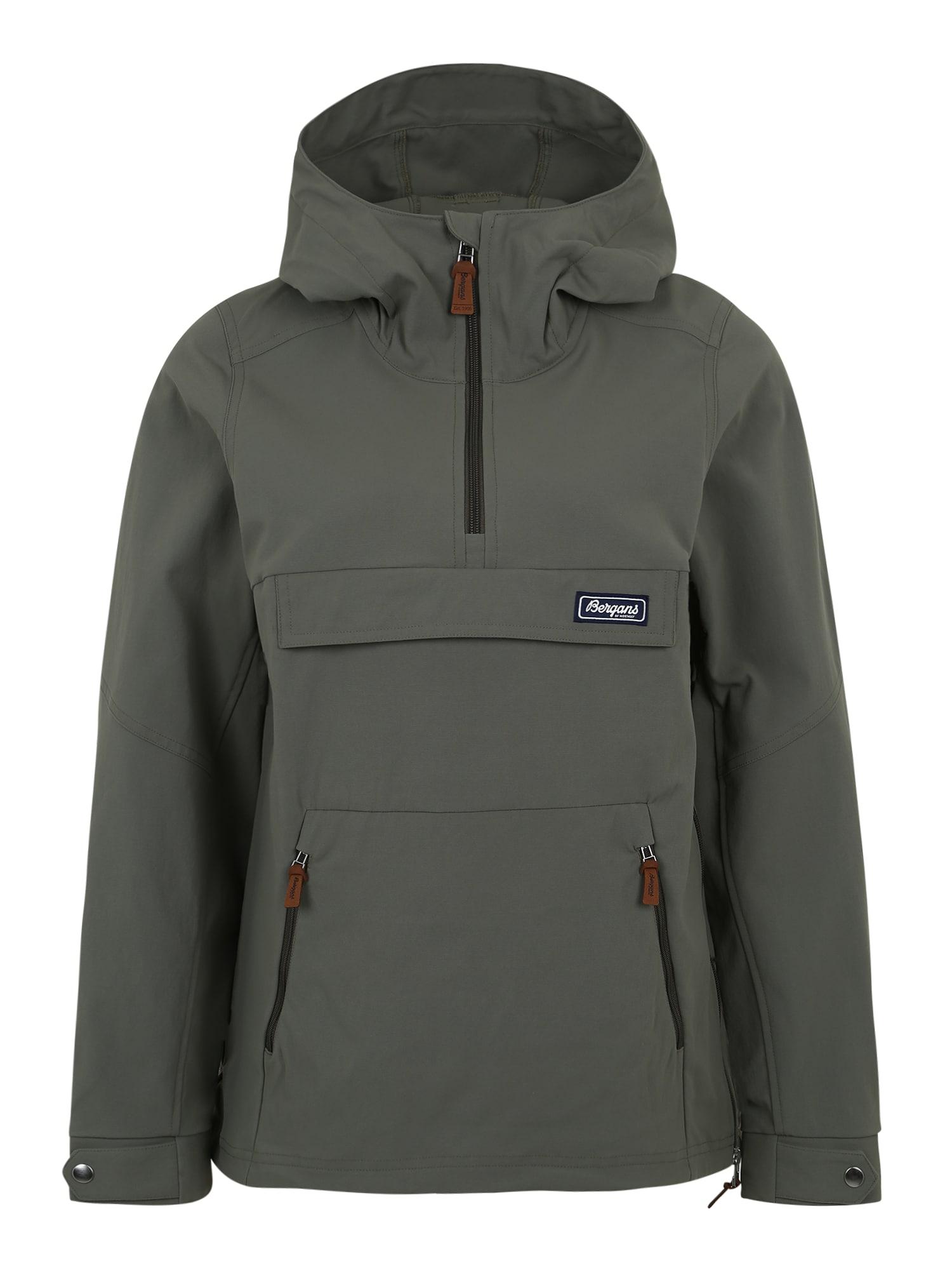Bergans Outdoorová bunda 'Nordmarka W Anorak'  barvy bláta