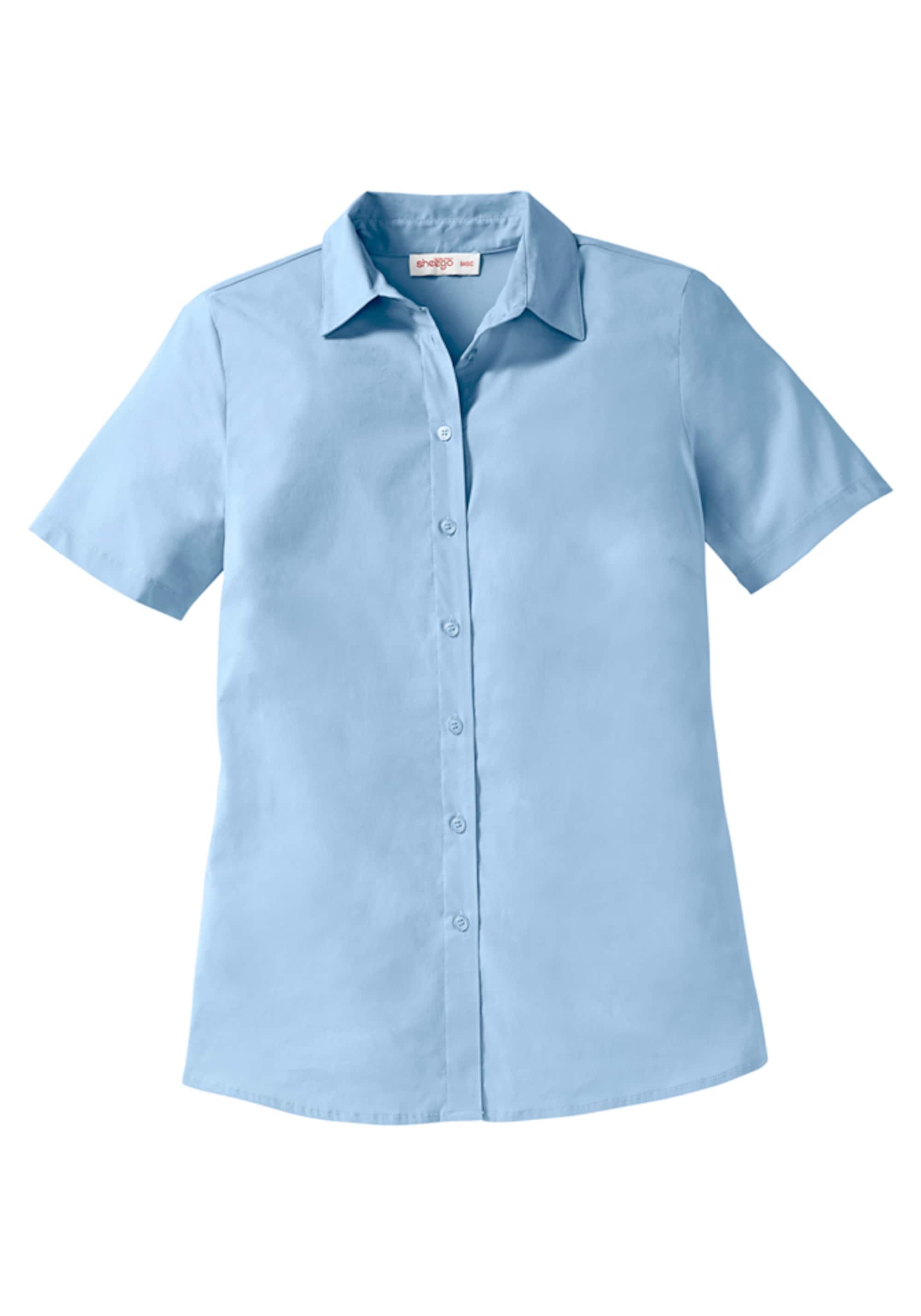 Image of Basic Stretch Bluse