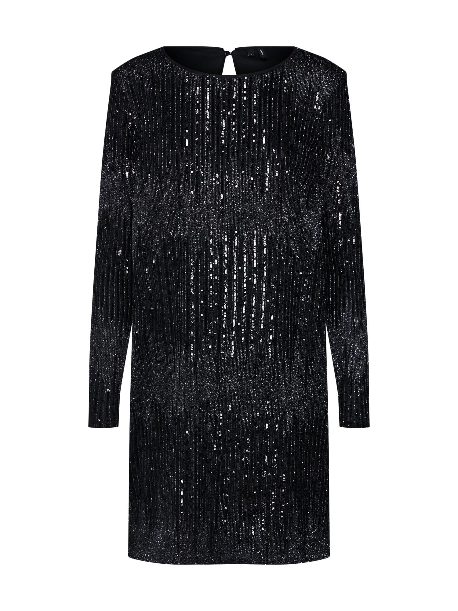 VERO MODA Sequined Dress Dames Zwart